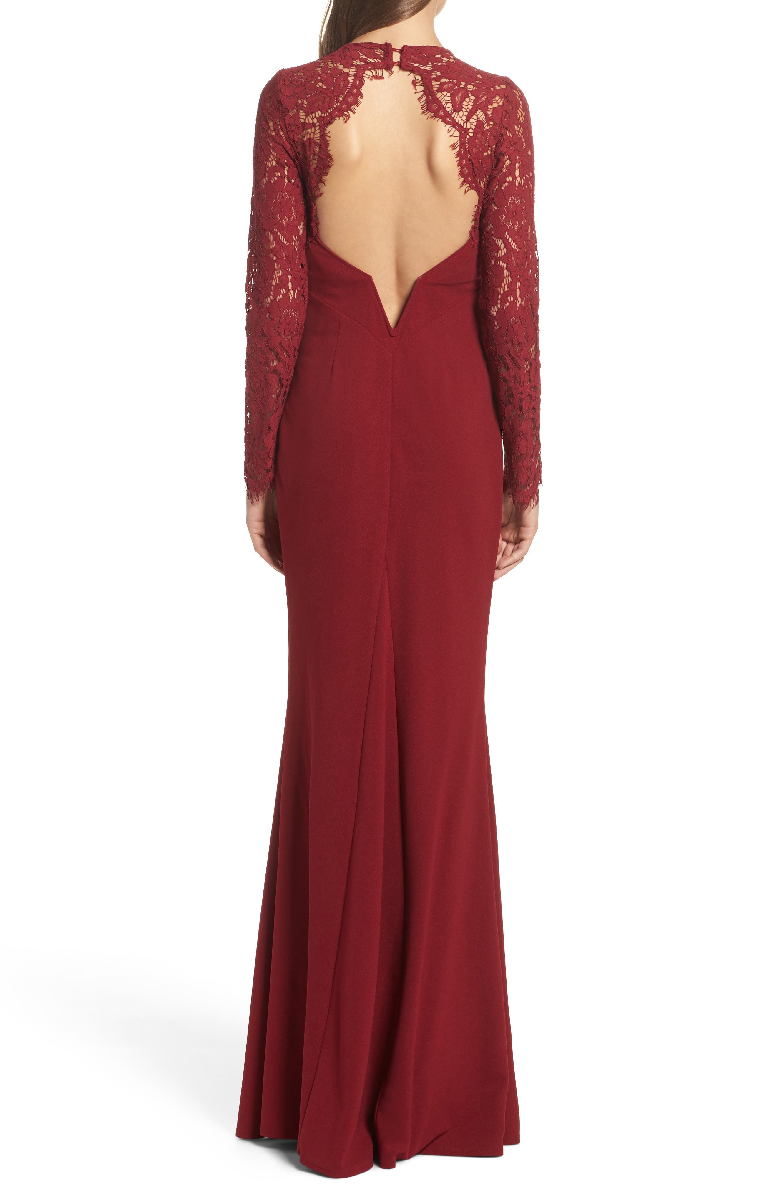Whenever You Call Maxi Dress,                             Alternate thumbnail 2, color,                             Wine