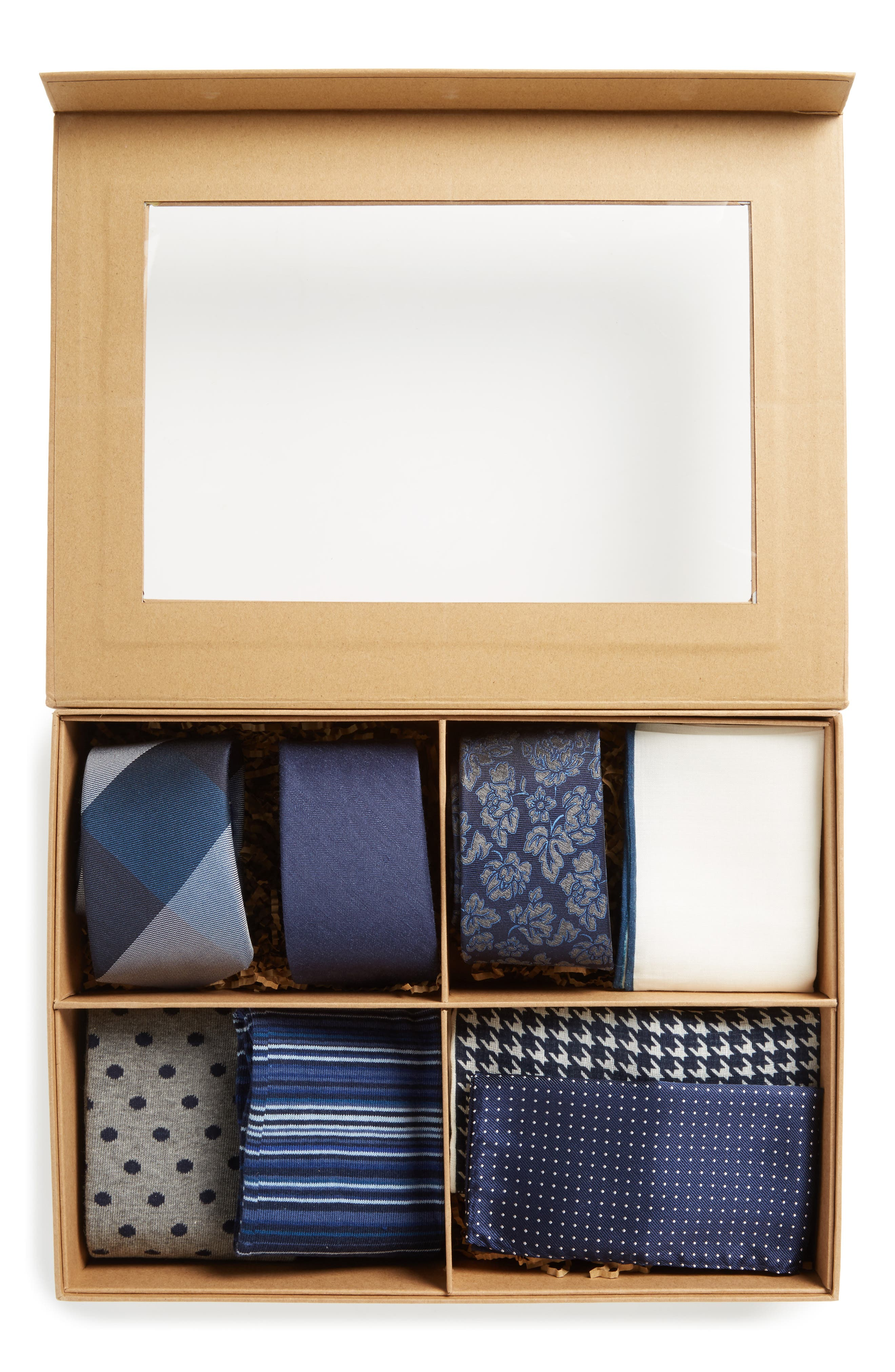 Large Style Box,                             Alternate thumbnail 3, color,                             Navy