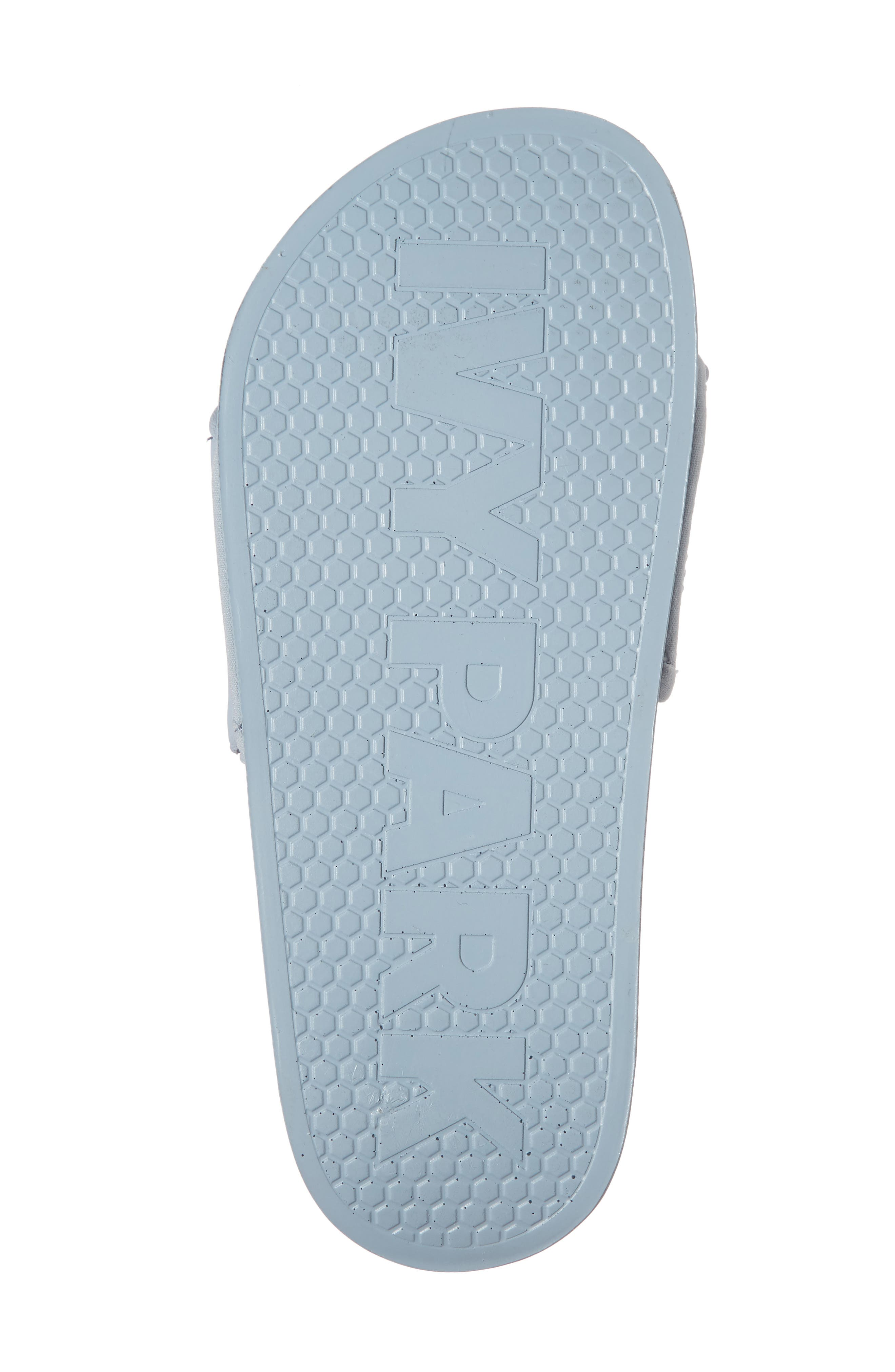 Embossed Neoprene Lined Slide Sandal,                             Alternate thumbnail 6, color,                             Eggshell