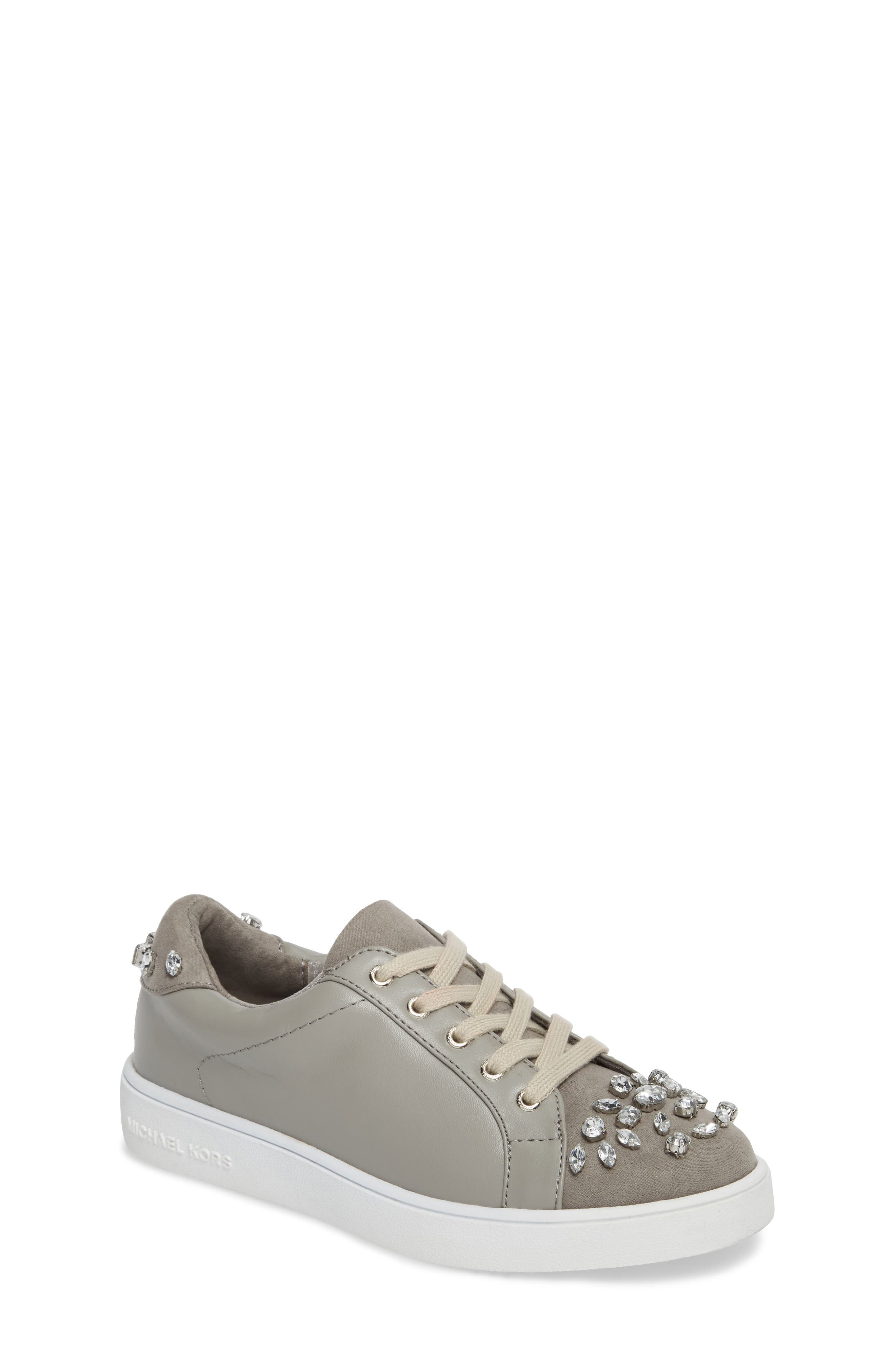 MICHAEL Michael Kors Ivy League Crystal Embellished Sneaker (Toddler, Little Kid & Big Kid)
