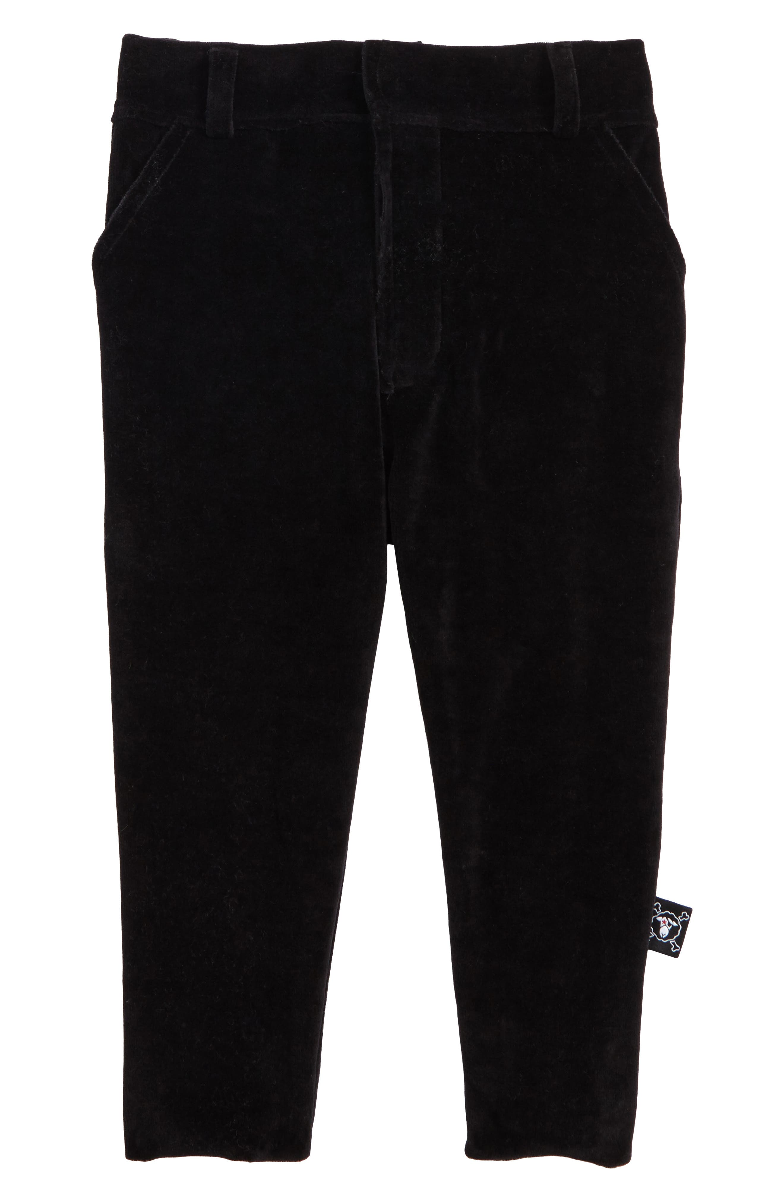 Velvet Pants,                             Main thumbnail 1, color,                             Black