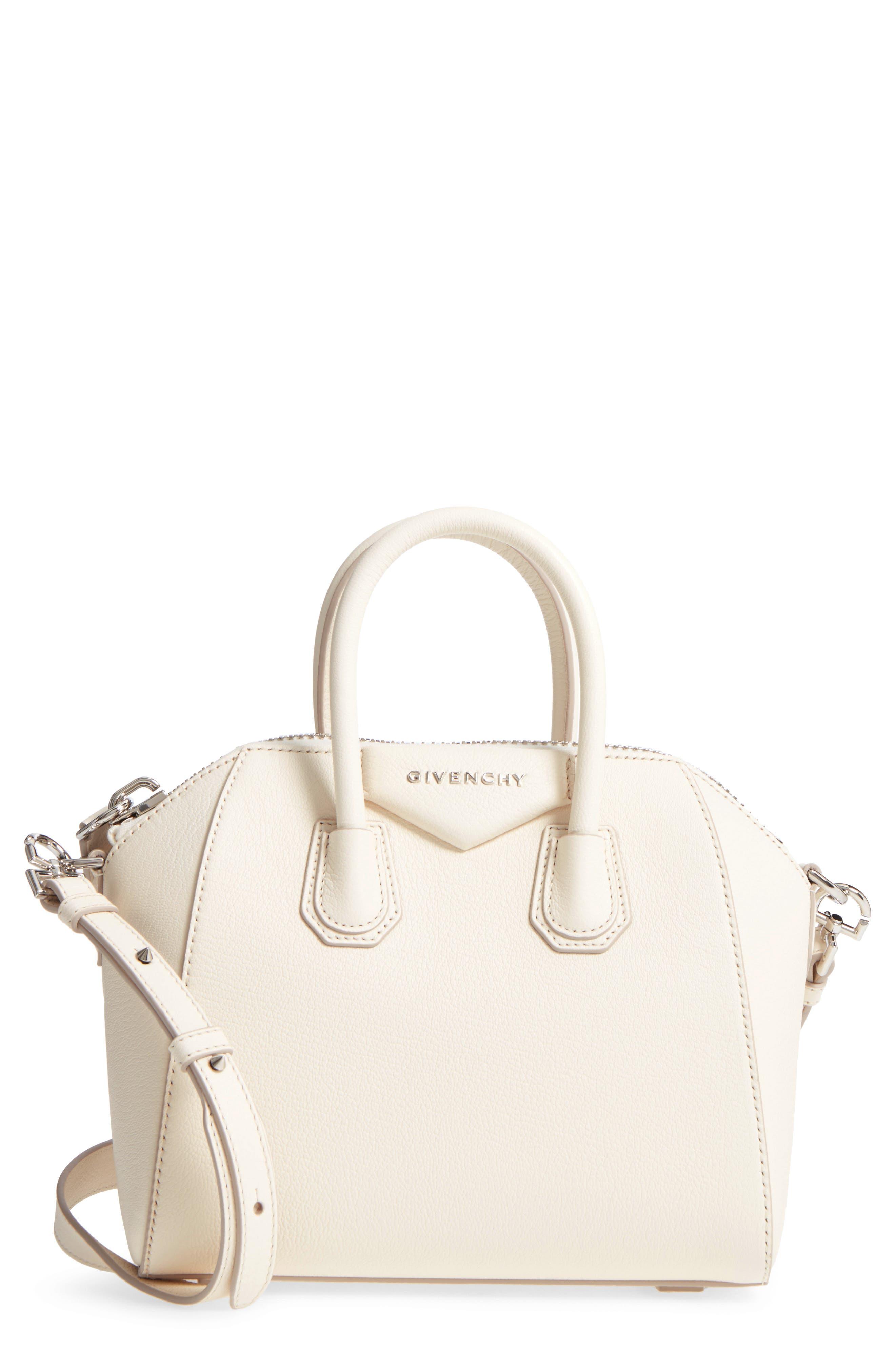 Alternate Image 1 Selected - Givenchy 'Mini Antigona' Sugar Leather Satchel