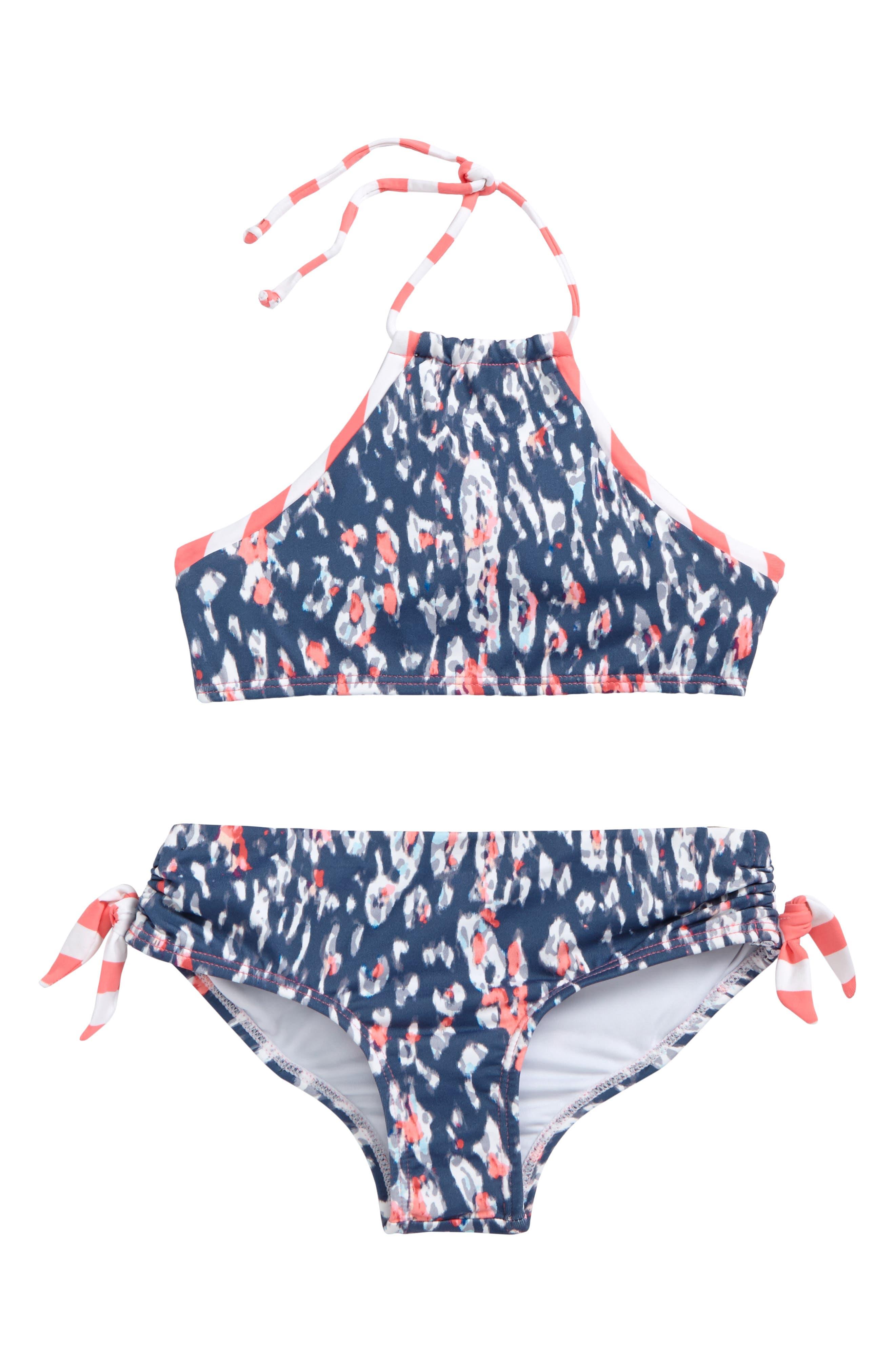 Main Image - OndadeMar Aluvia Two-Piece Swimsuit (Big Girls)