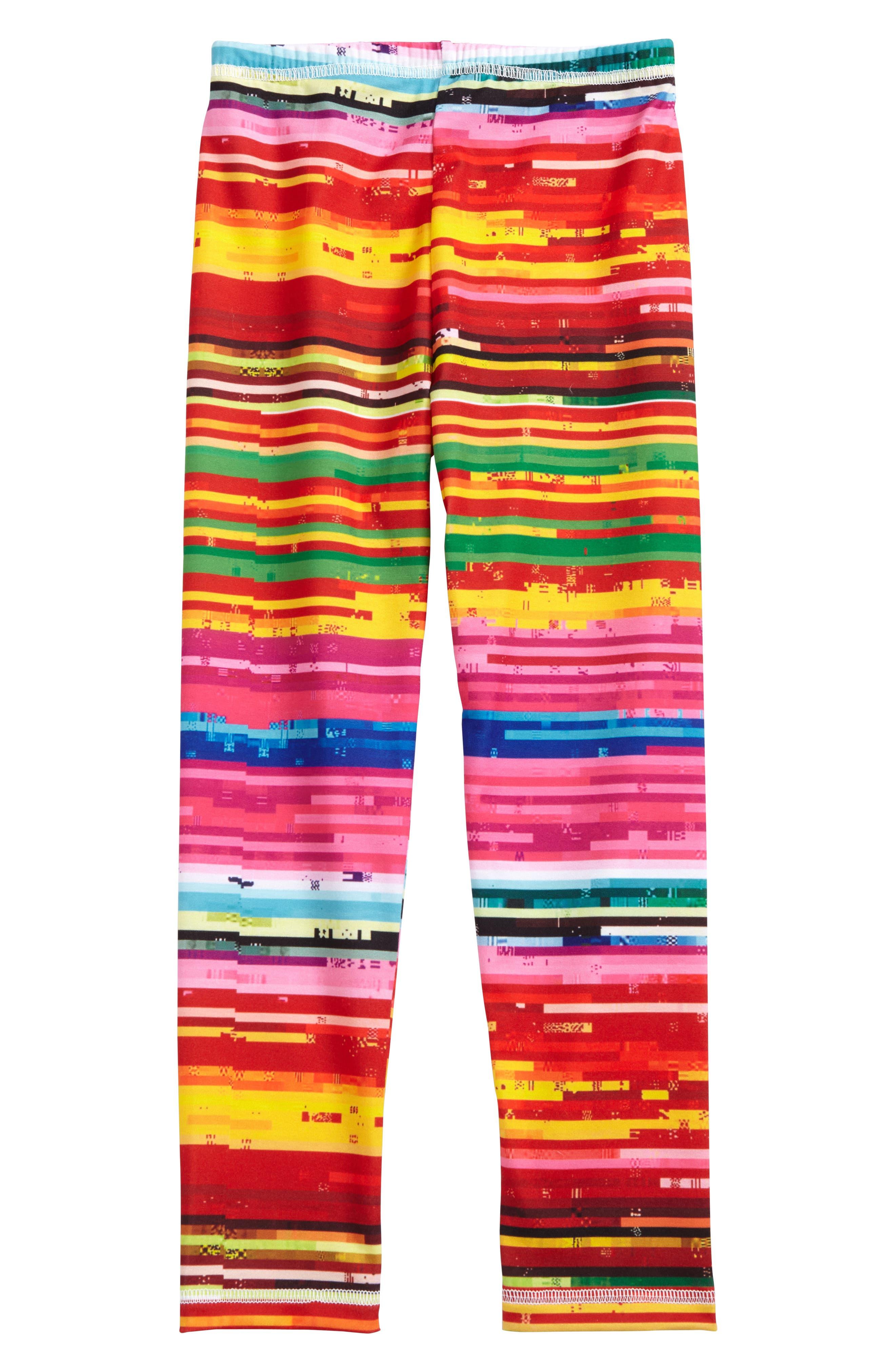 Kid Made Modern Stripe Leggings (Little Girls & Big Girls)
