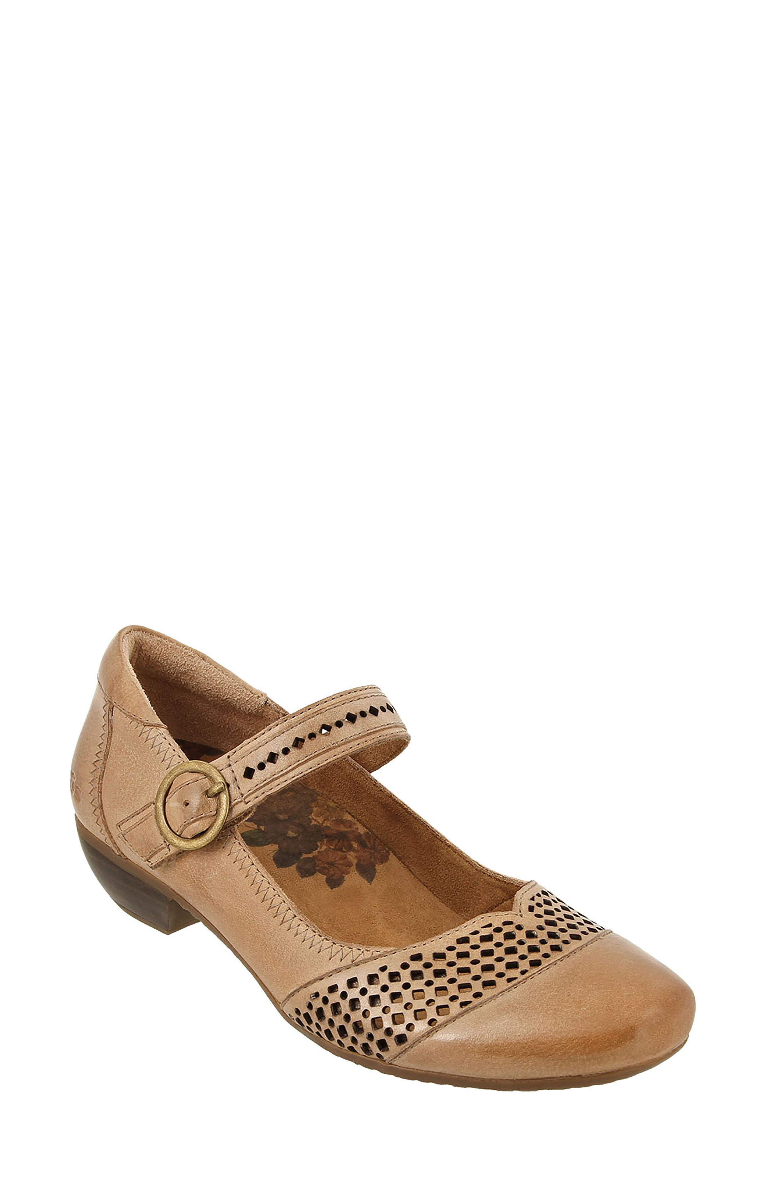 Esteem Mary Jane Pump,                             Main thumbnail 1, color,                             Nude Leather