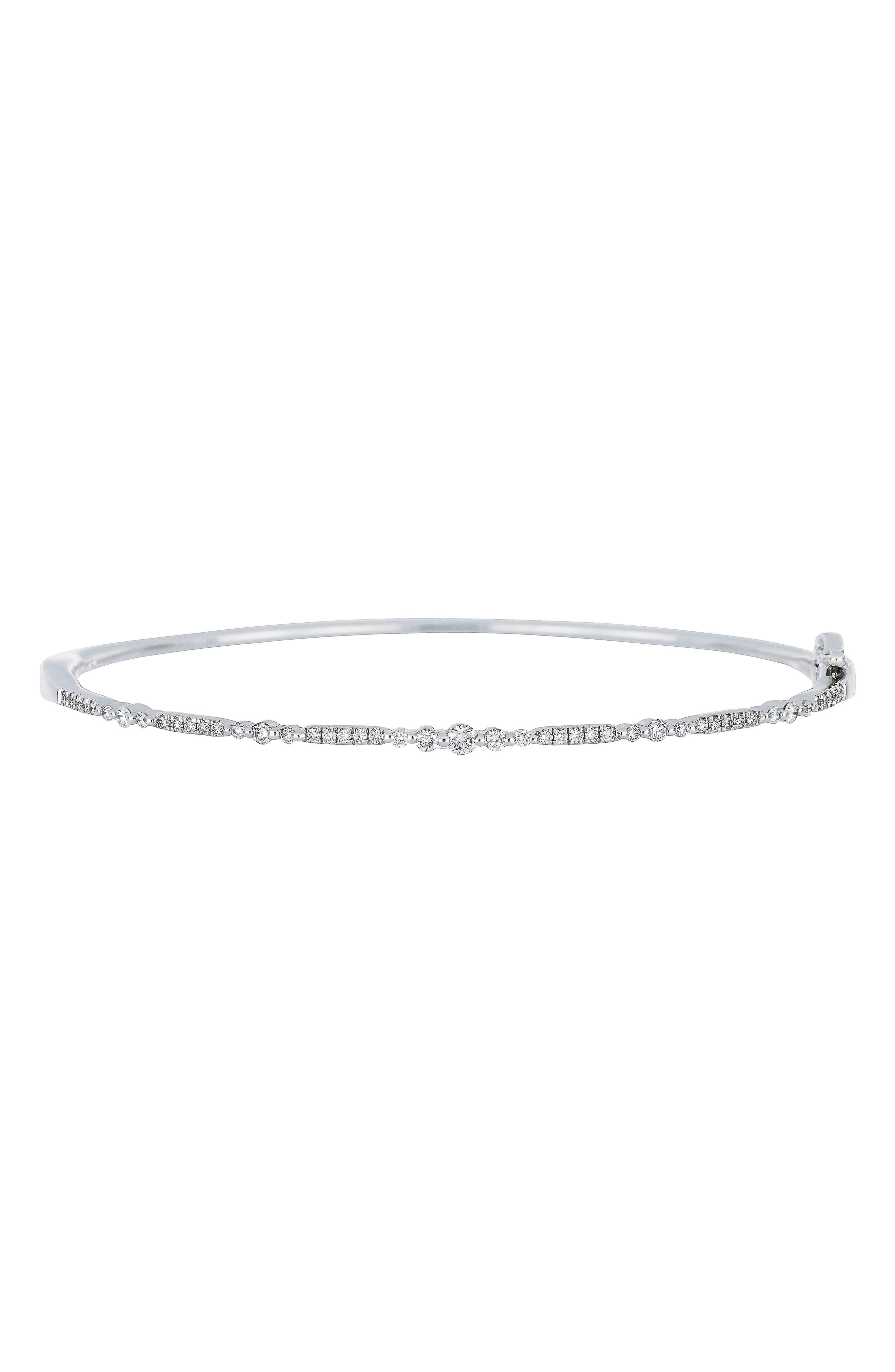 Main Image - Bony Levy Diamond Bangle (Nordstrom Exclusive)