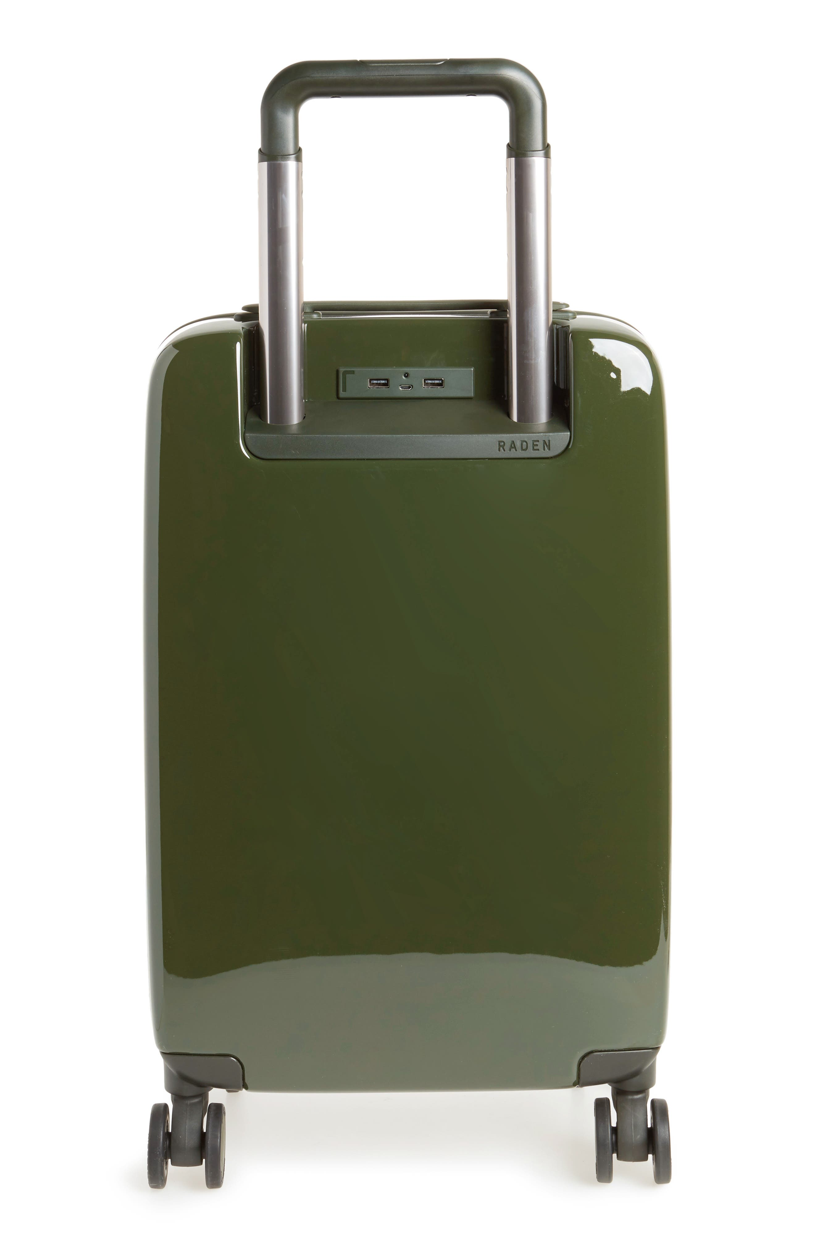 Alternate Image 2  - Raden The A22 22 Inch Charging Wheeled Carry-On Suitcase