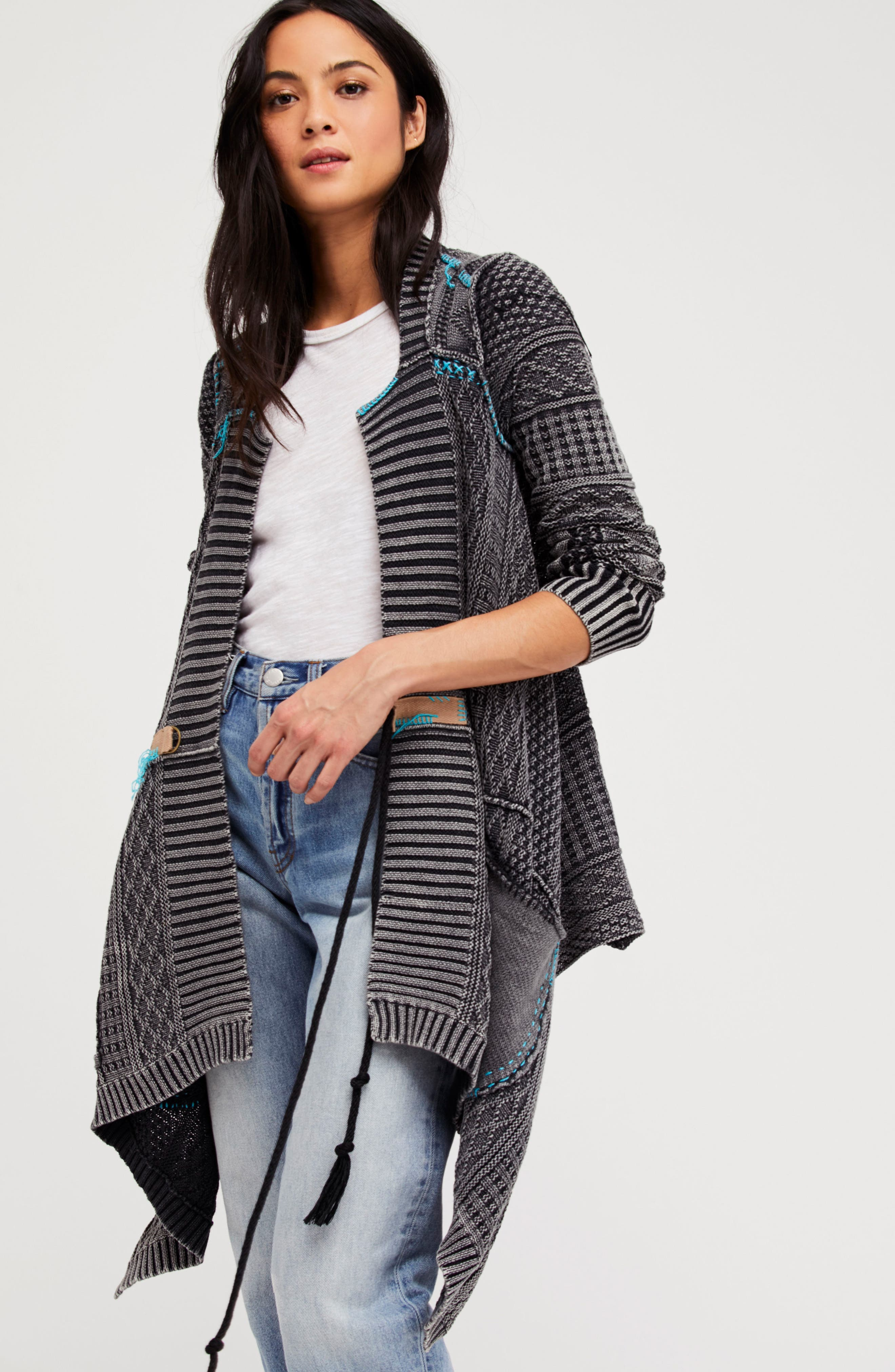 Free People All Washed Out Cardigan