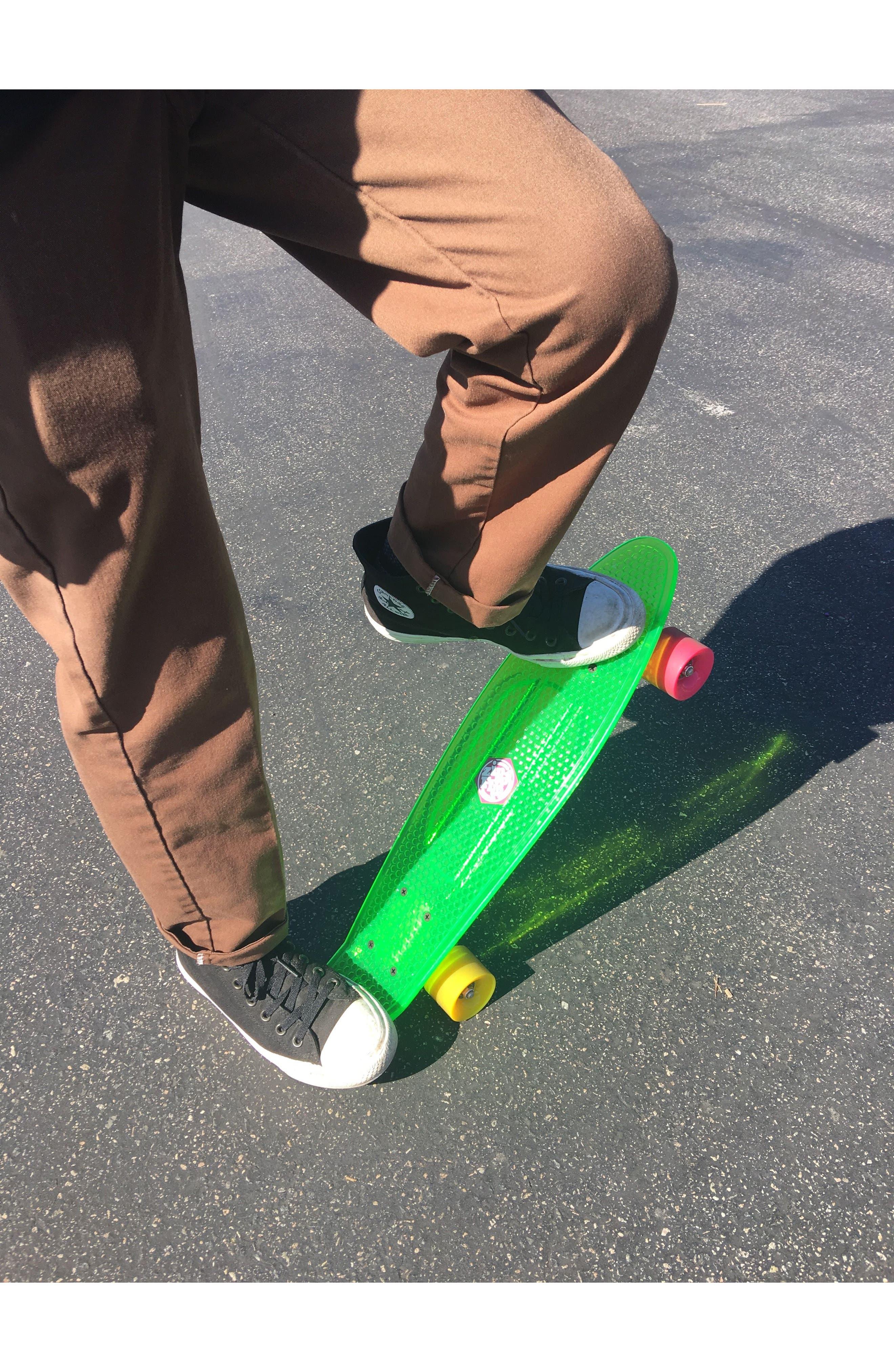 Translucent Skateboard,                             Alternate thumbnail 4, color,                             Green
