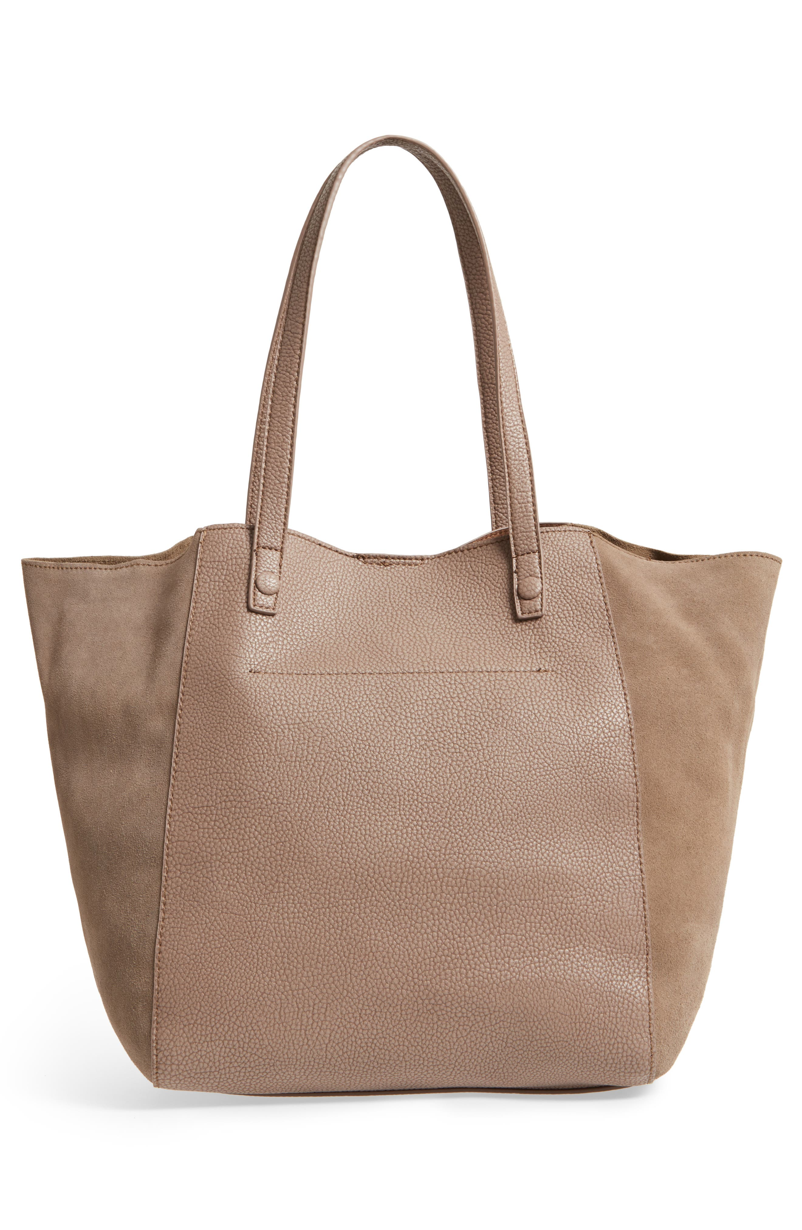 Alternate Image 3  - Sole Society Wesley Slouchy Suede Tote