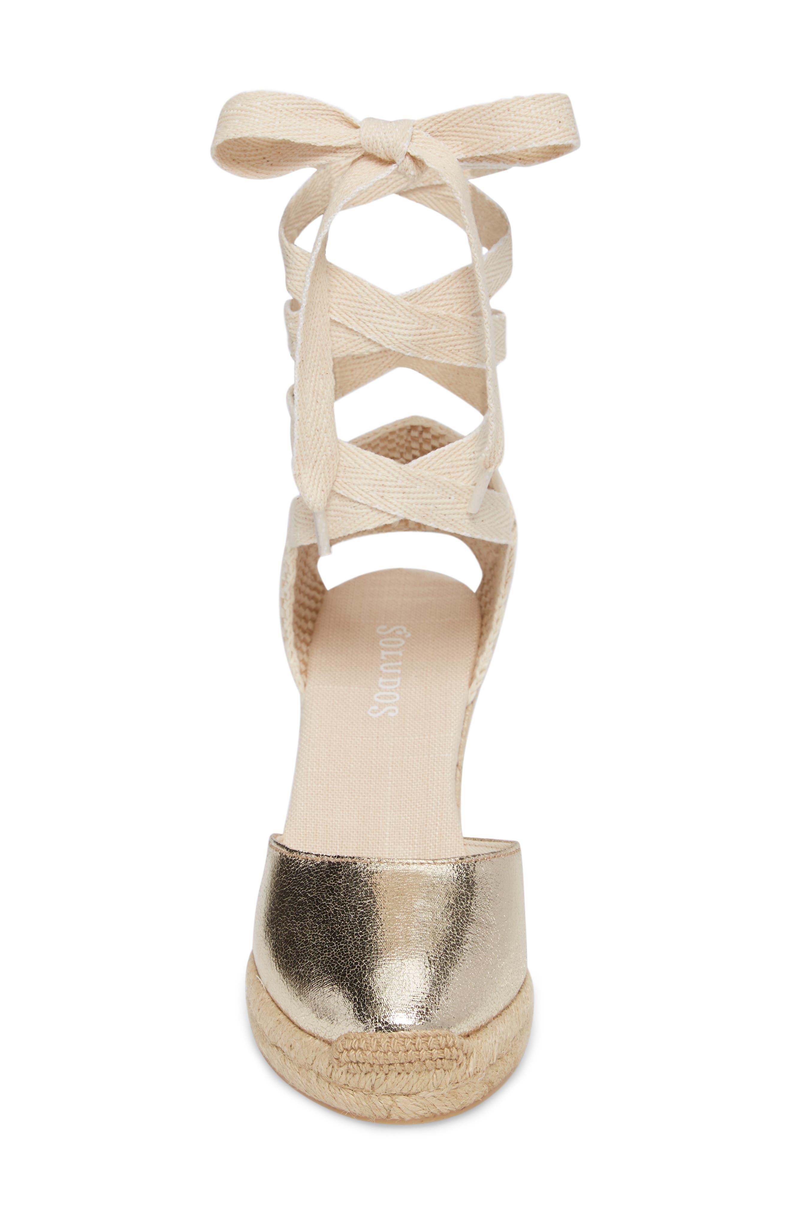 Alternate Image 4  - Soludos Wedge Lace-Up Espadrille Sandal (Women)