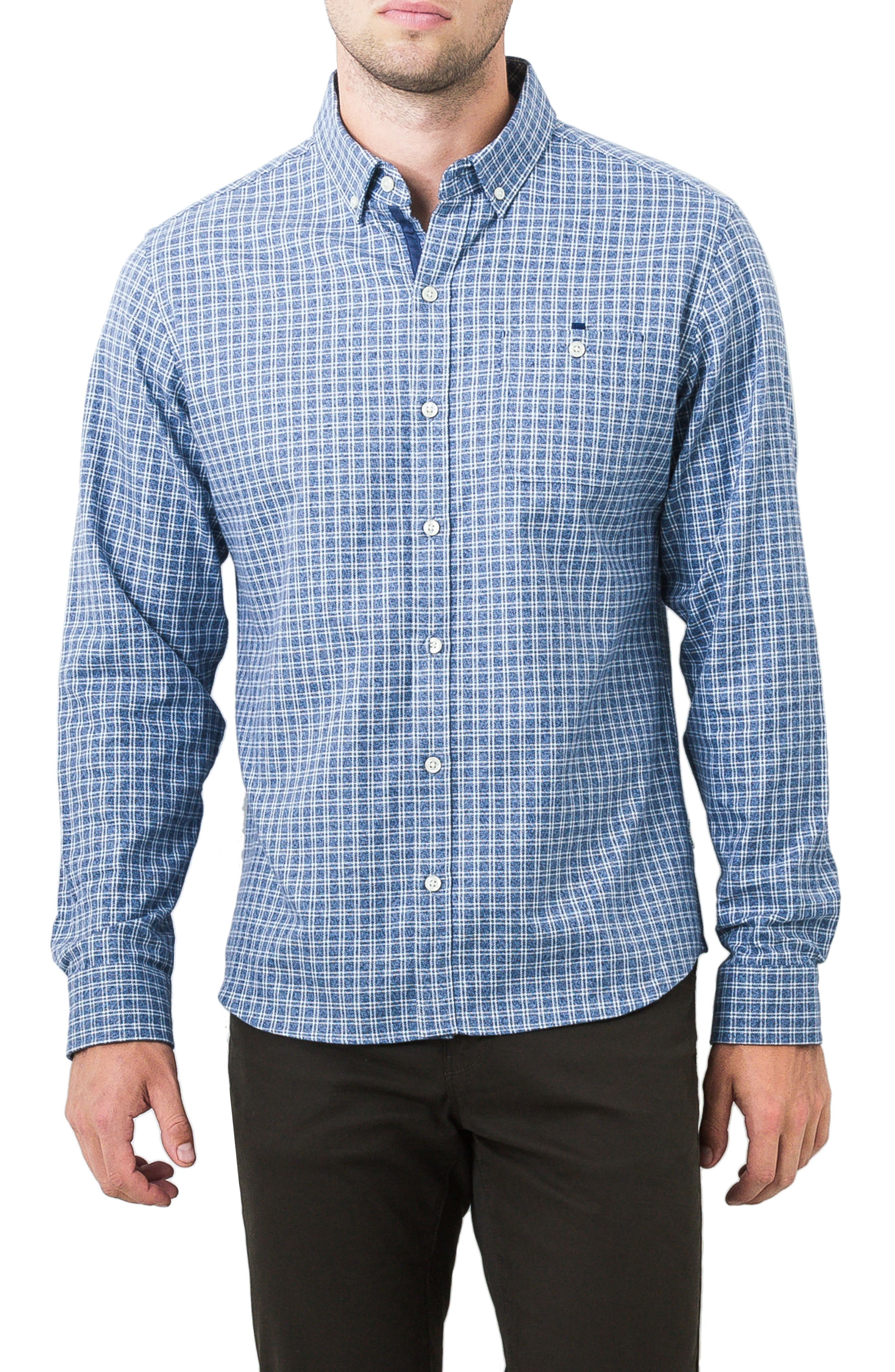 Perfect Strangers Sport Shirt,                         Main,                         color, Slate