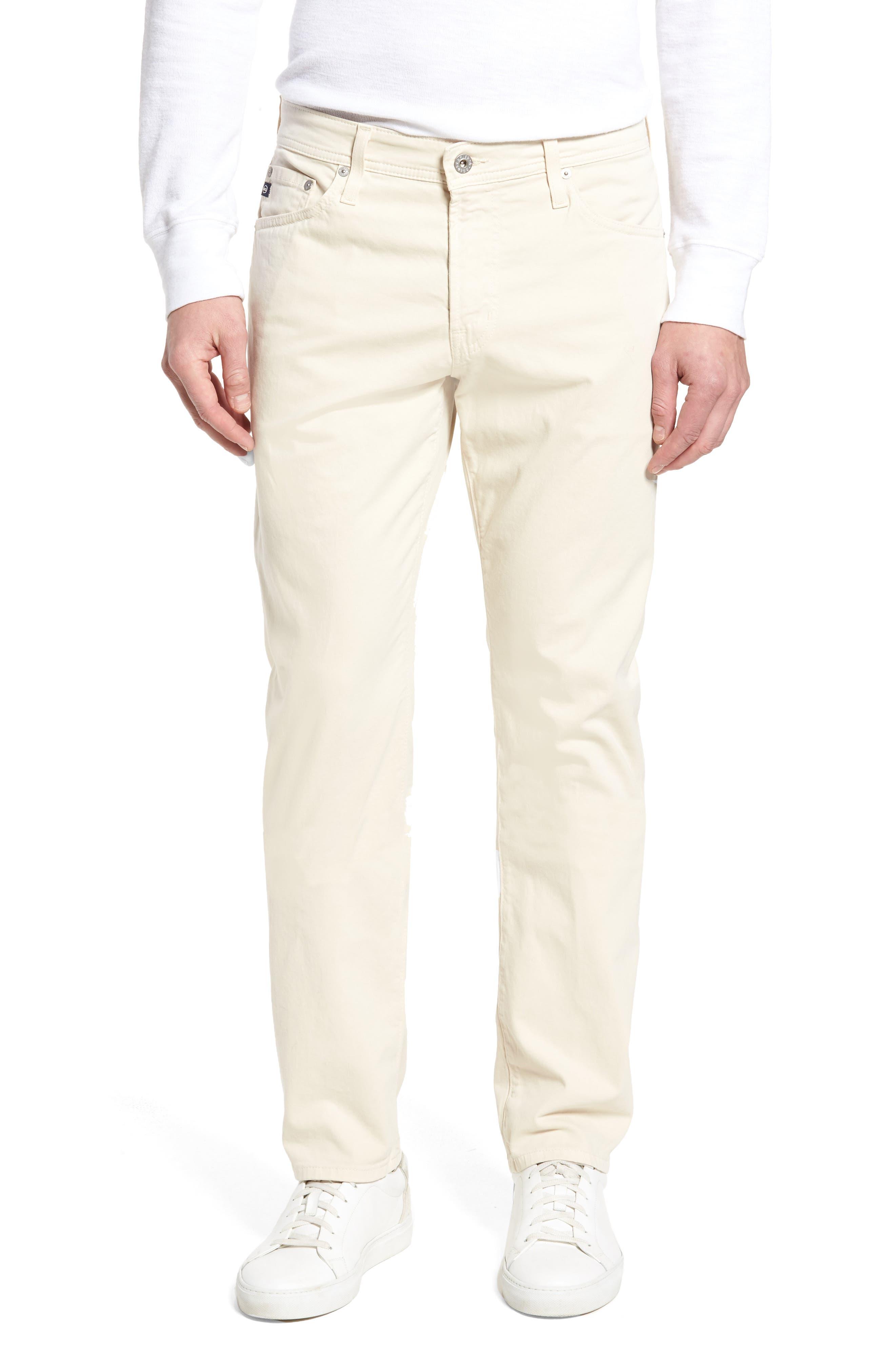 Alternate Image 1 Selected - AG Graduate SUD Slim Straight Leg Pants