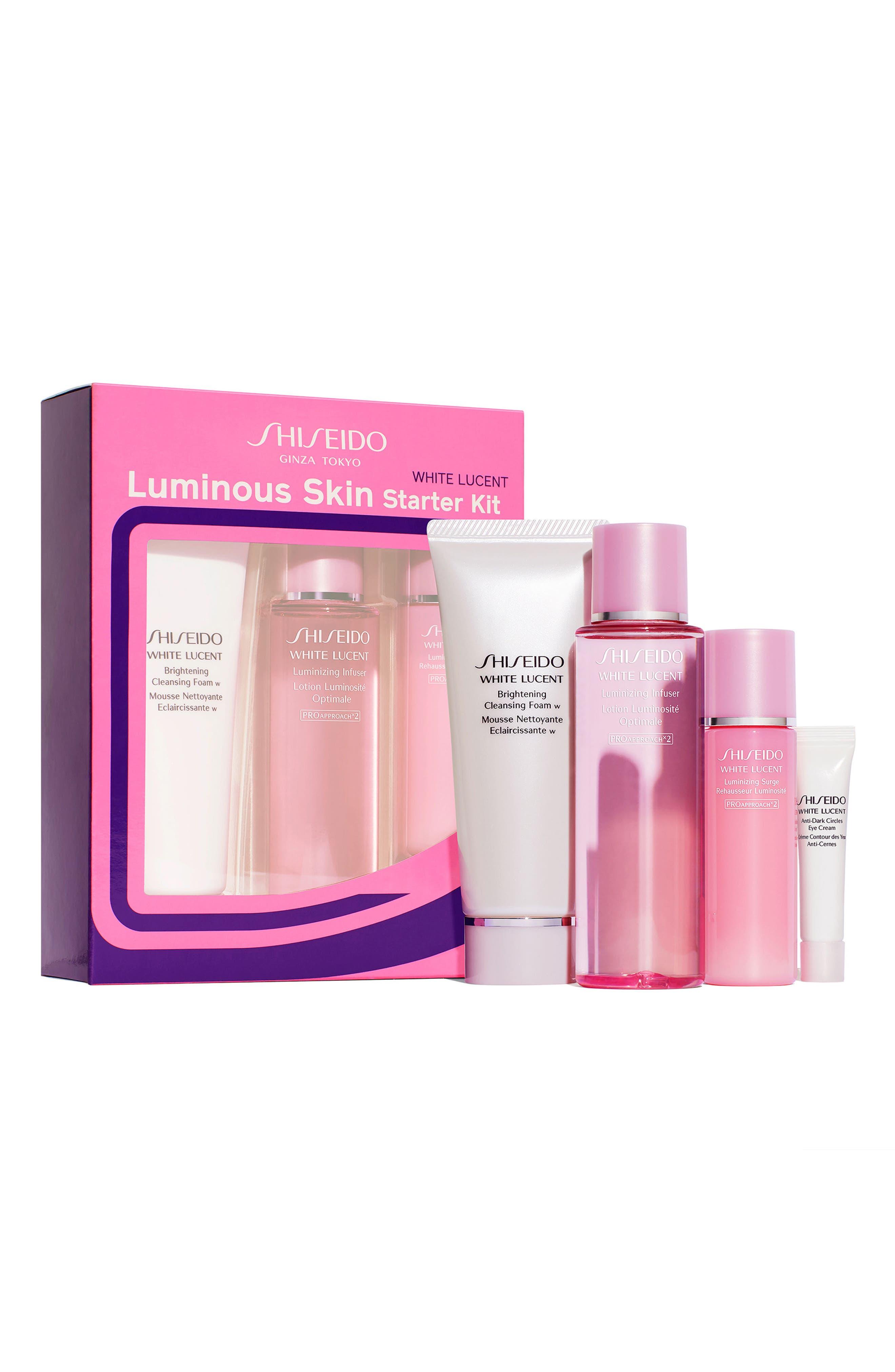 White Lucent Luminous Skin Starter Kit,                             Main thumbnail 1, color,                             No Color