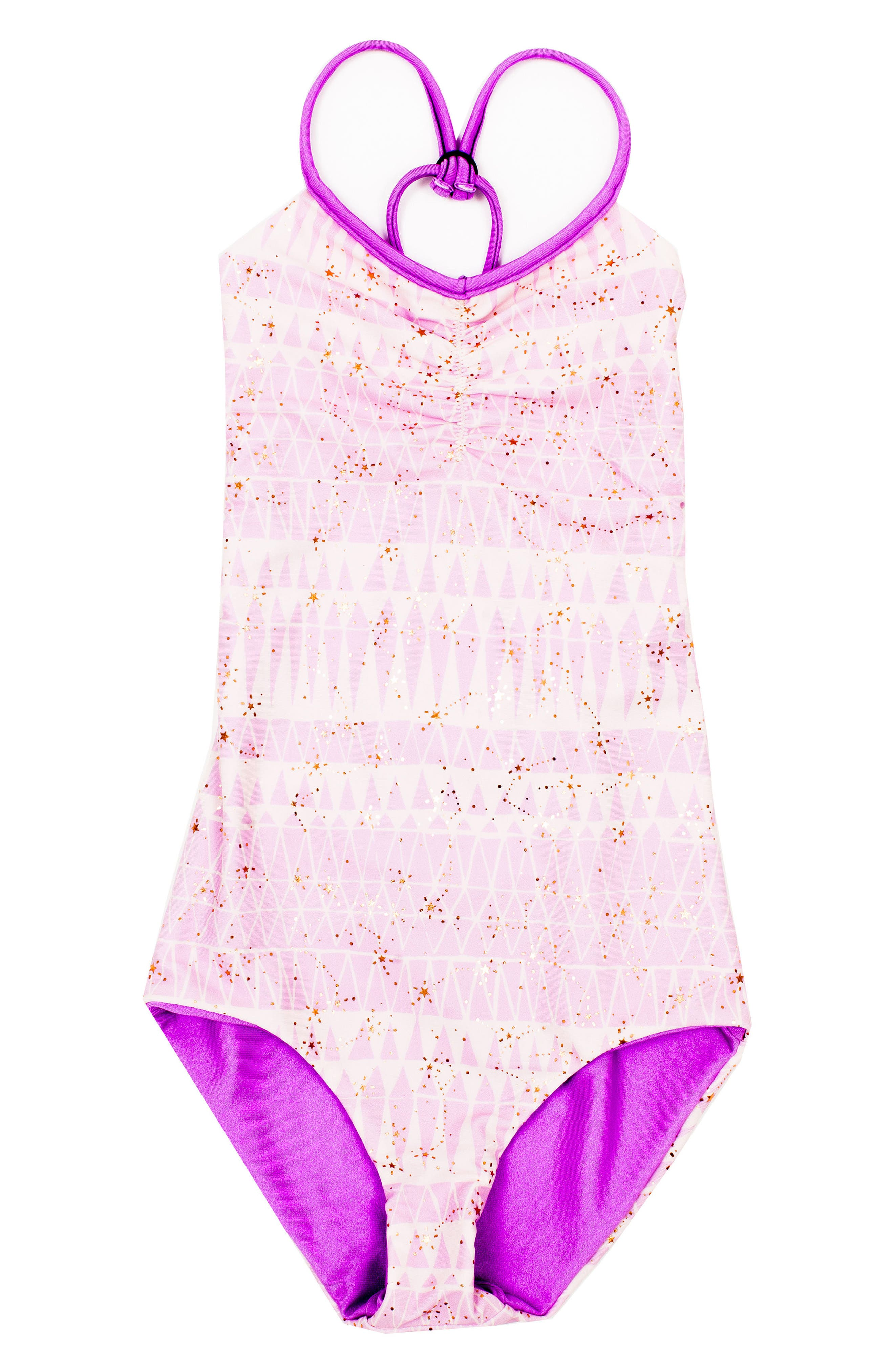 BOWIE X JAMES Catalinakini One-Piece Reversible Swimsuit (Toddler Girls, Little Girls & Big Girls)