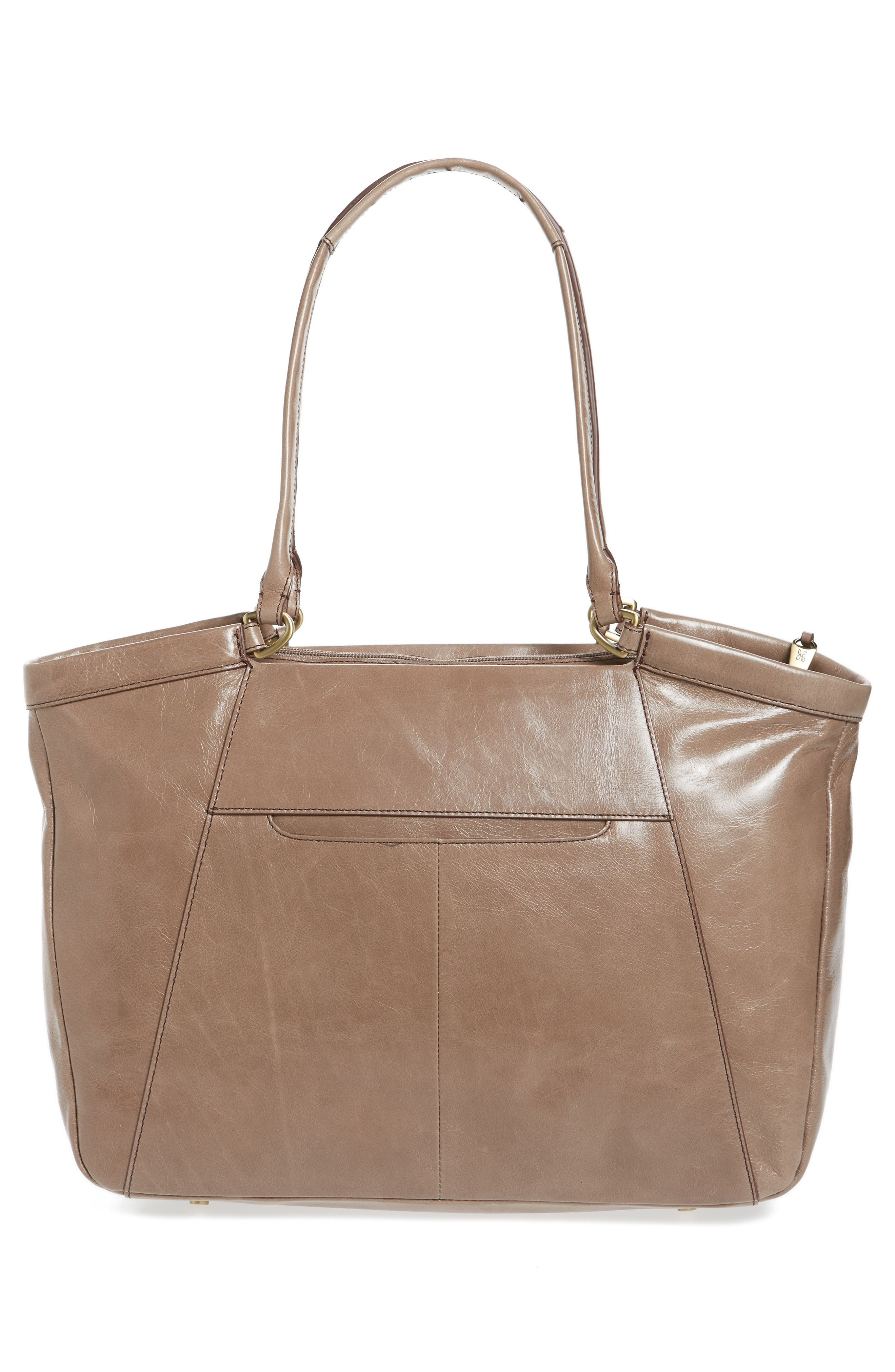 Maryanna Leather Tote,                             Alternate thumbnail 3, color,                             Ash