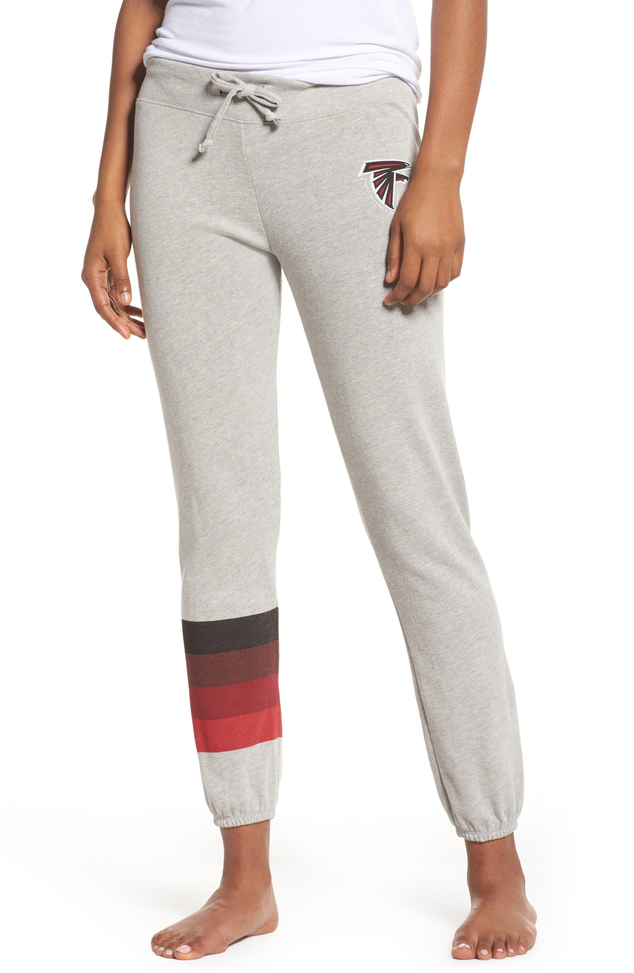 NFL Atlanta Falcons Hacci Sweatpants,                         Main,                         color, Dove Heather Grey