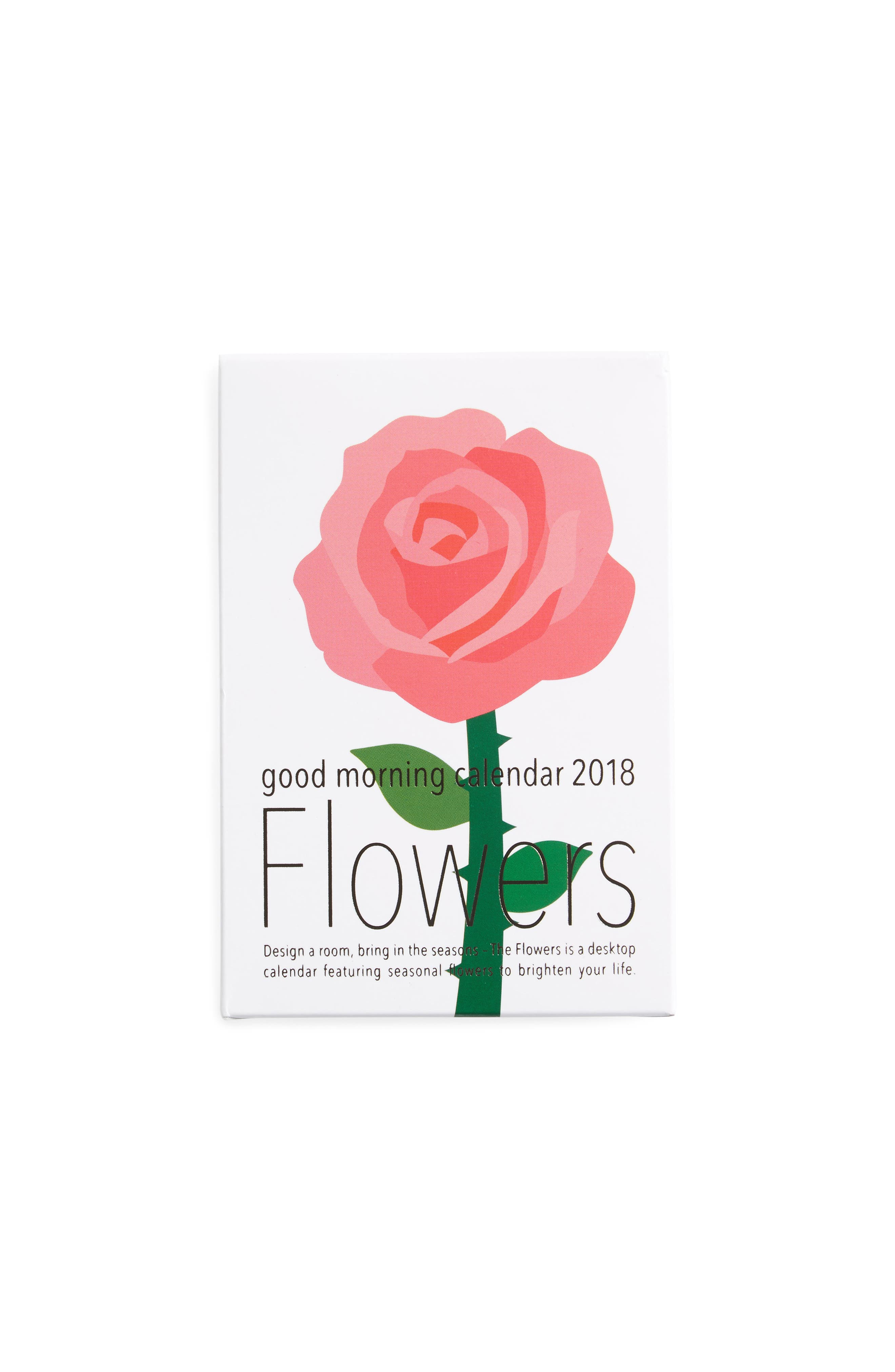 MoMA Design Store 2018 3D Flowers Calendar