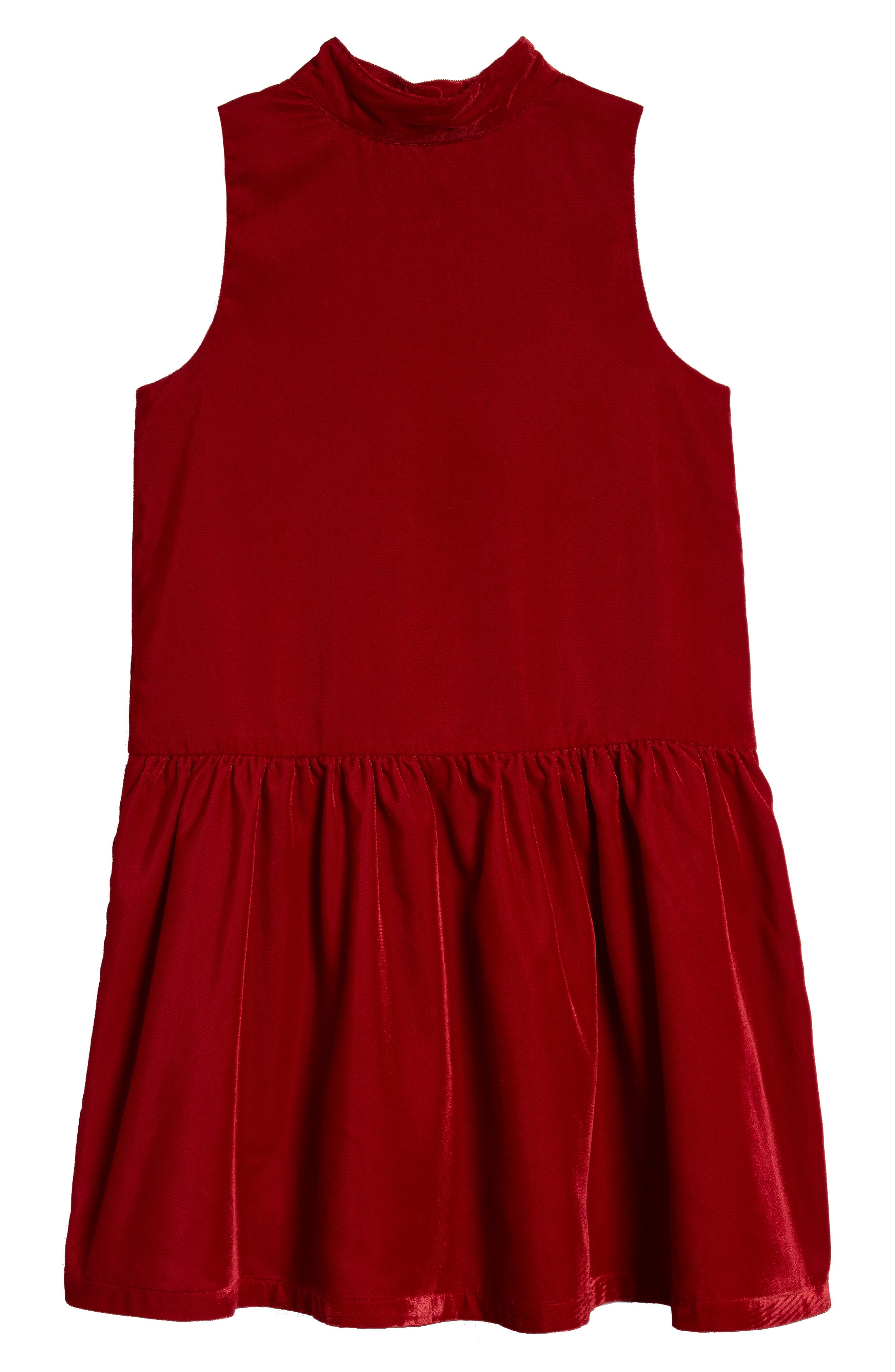 Ruby & Bloom Velvet Drop Waist Dress (Toddler Girls, Little Girls & Big Girls)
