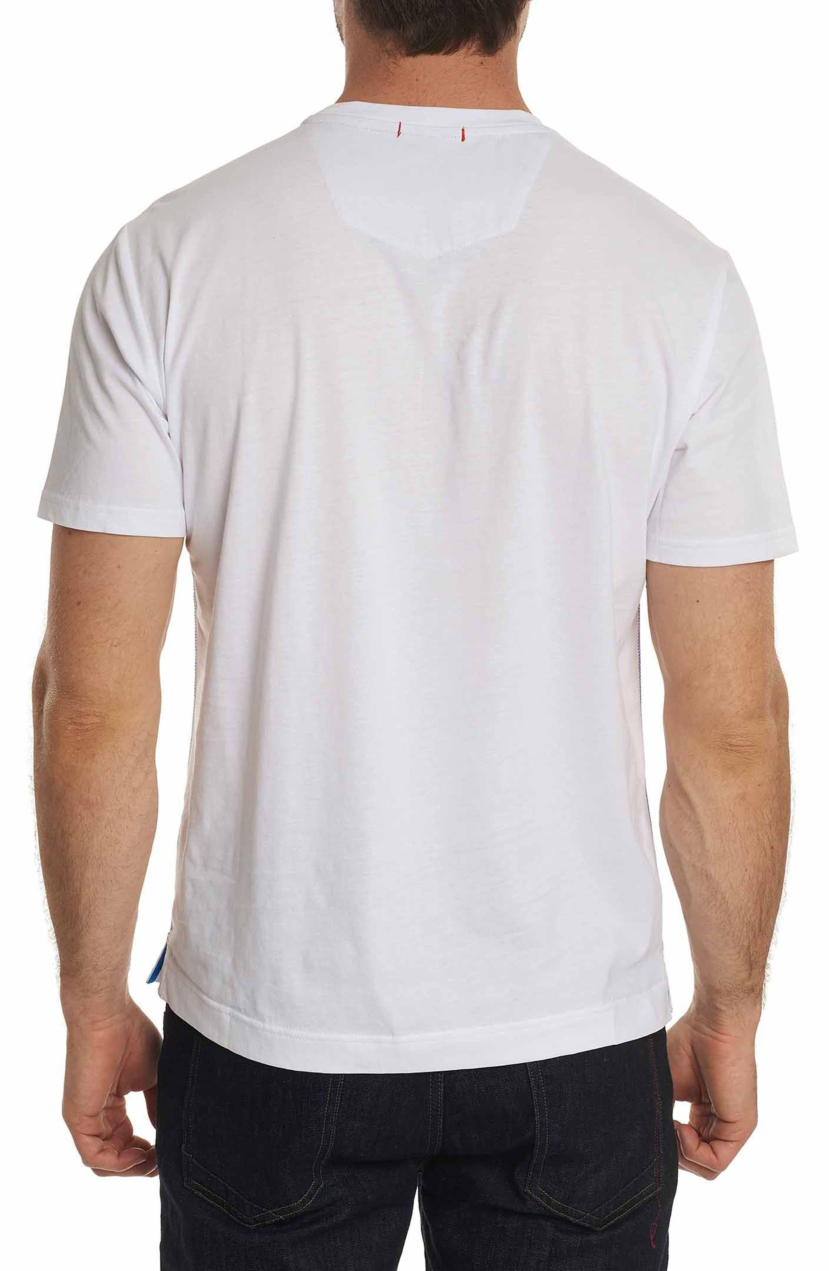 Alternate Image 2  - Robert Graham Bow Tie Bulldog Graphic T-Shirt