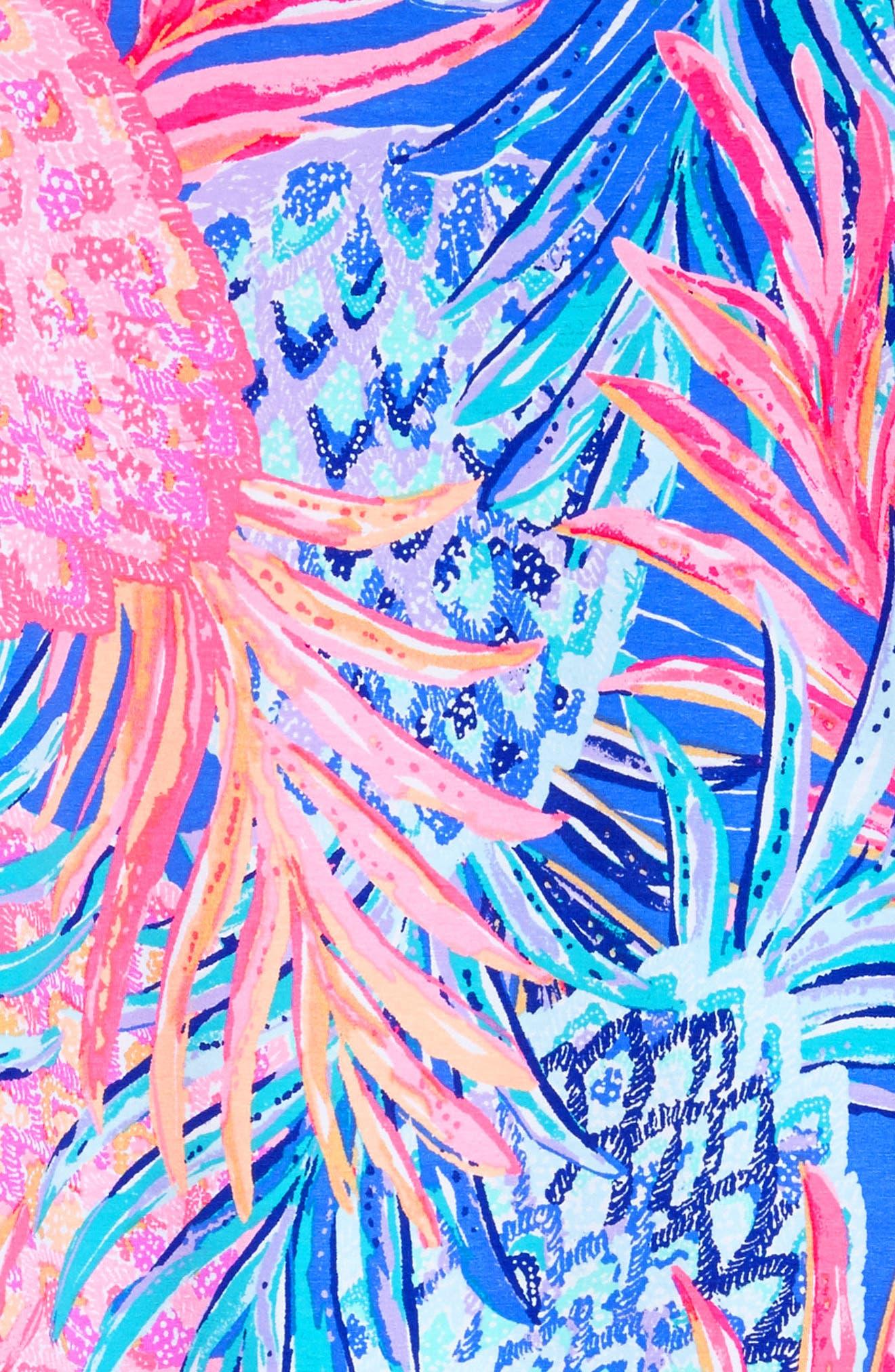 Mini Sophie UPF 50+ Dress,                             Alternate thumbnail 3, color,                             Multi Gypset Paradise