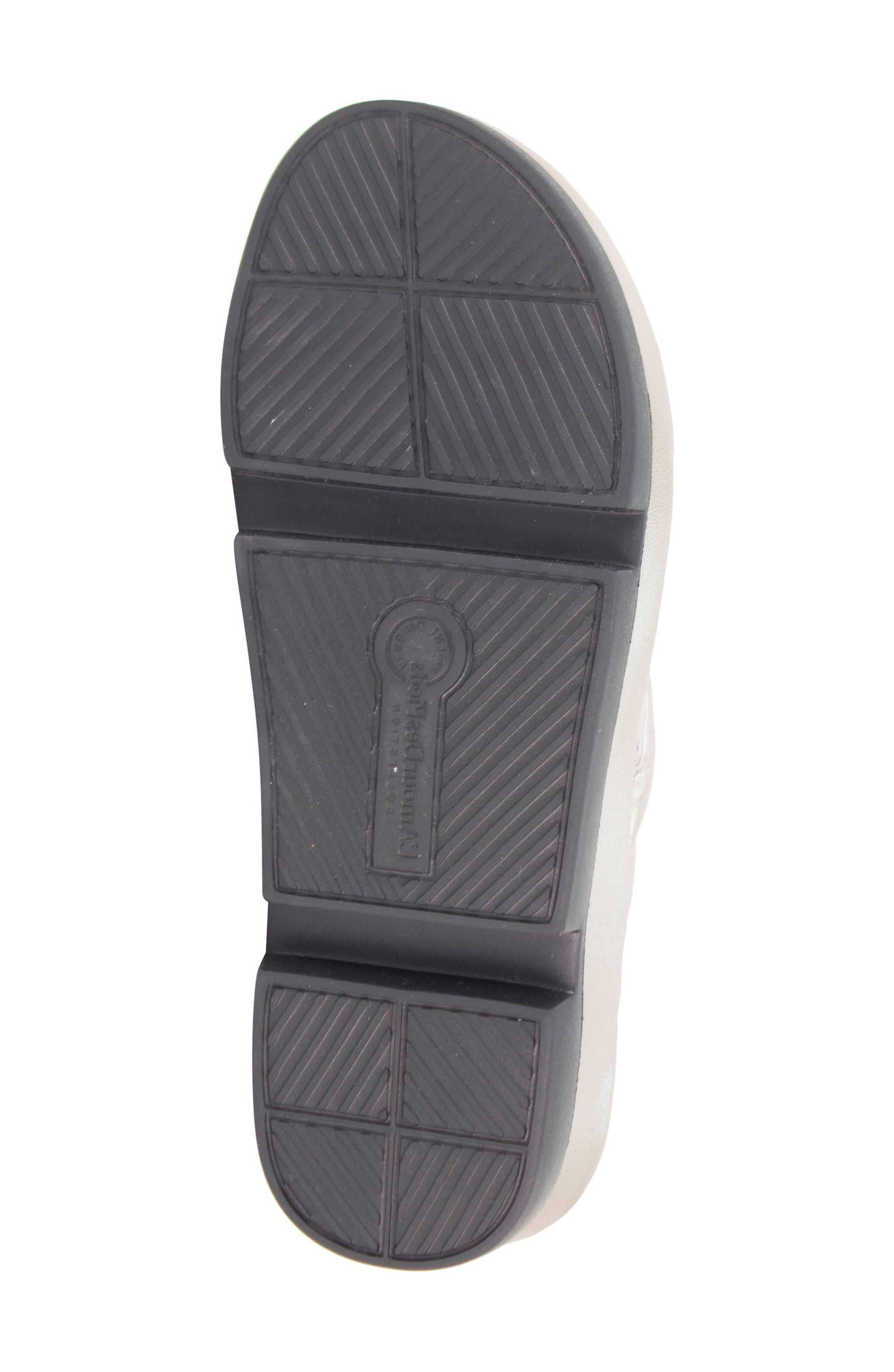 Villapapavero Flip Flop,                             Alternate thumbnail 7, color,                             Pewter Leather