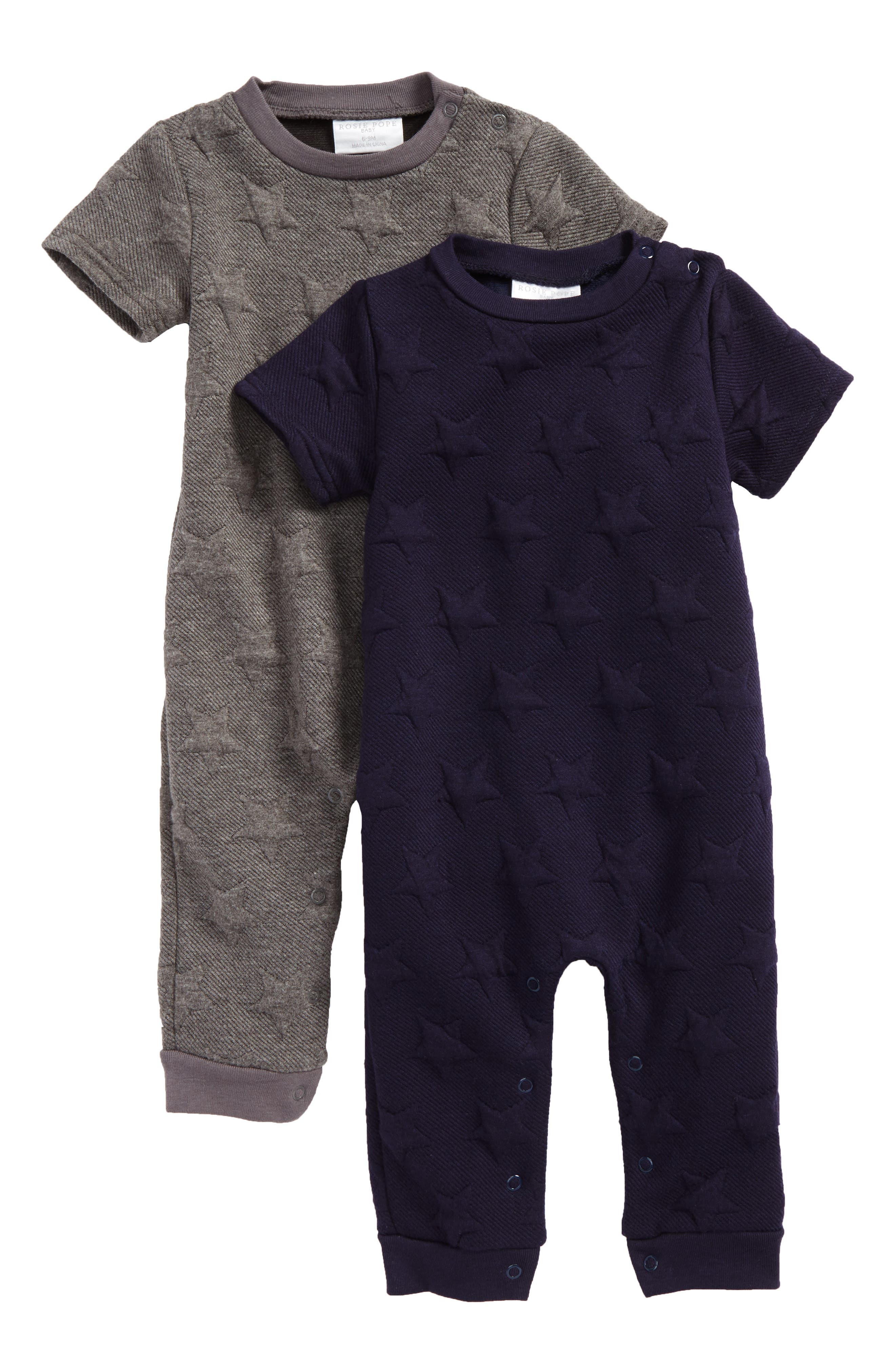 Rosie Pope 2-Pack Rompers (Baby Boys)