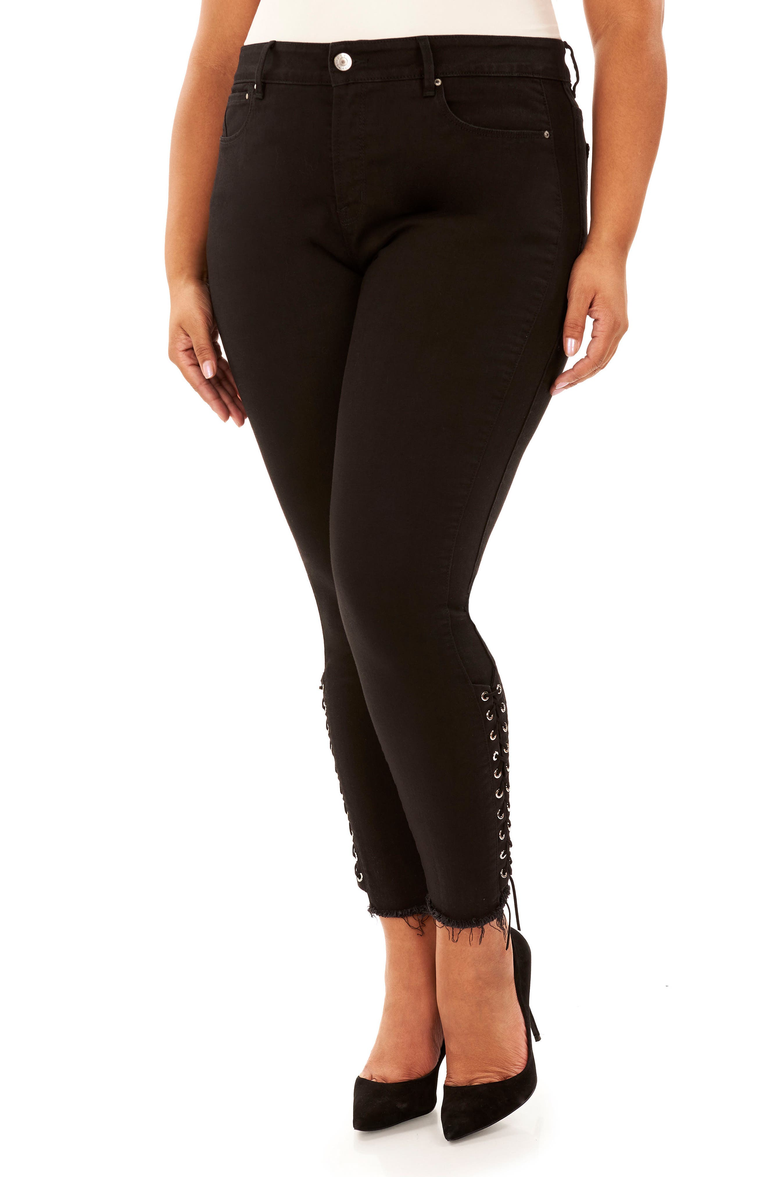 Main Image - Rebel Wilson x Angels The Siren Ankle Skinny Jeans (Plus Size)