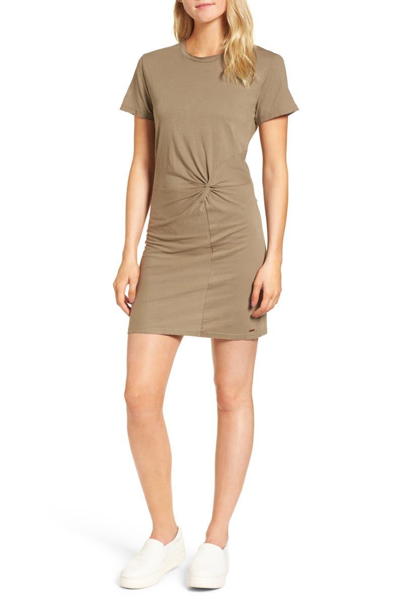 Jazz Knotted T-Shirt Dress