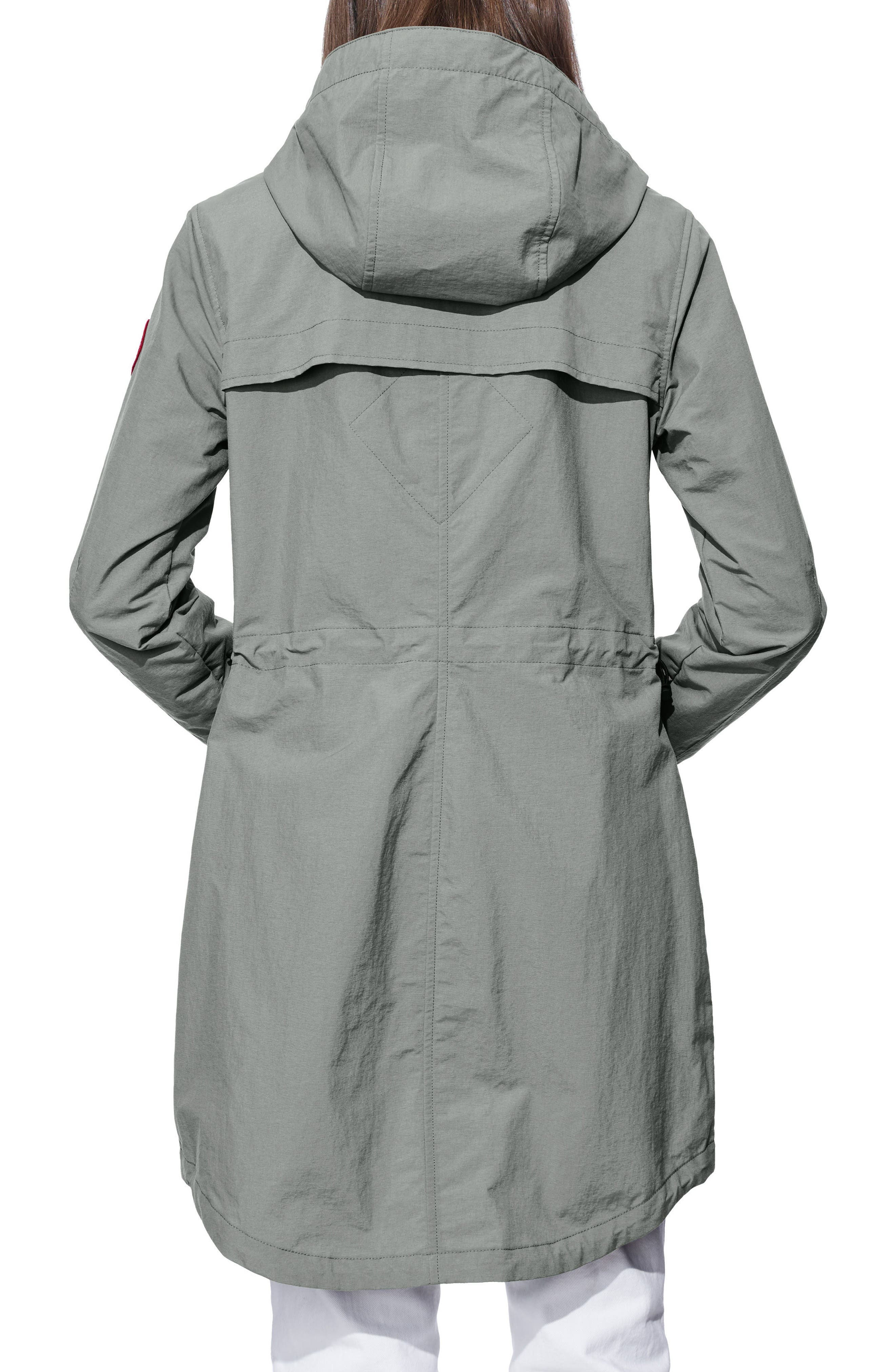 Brossard Hooded Drop Tail Jacket,                             Alternate thumbnail 2, color,                             Permafrost