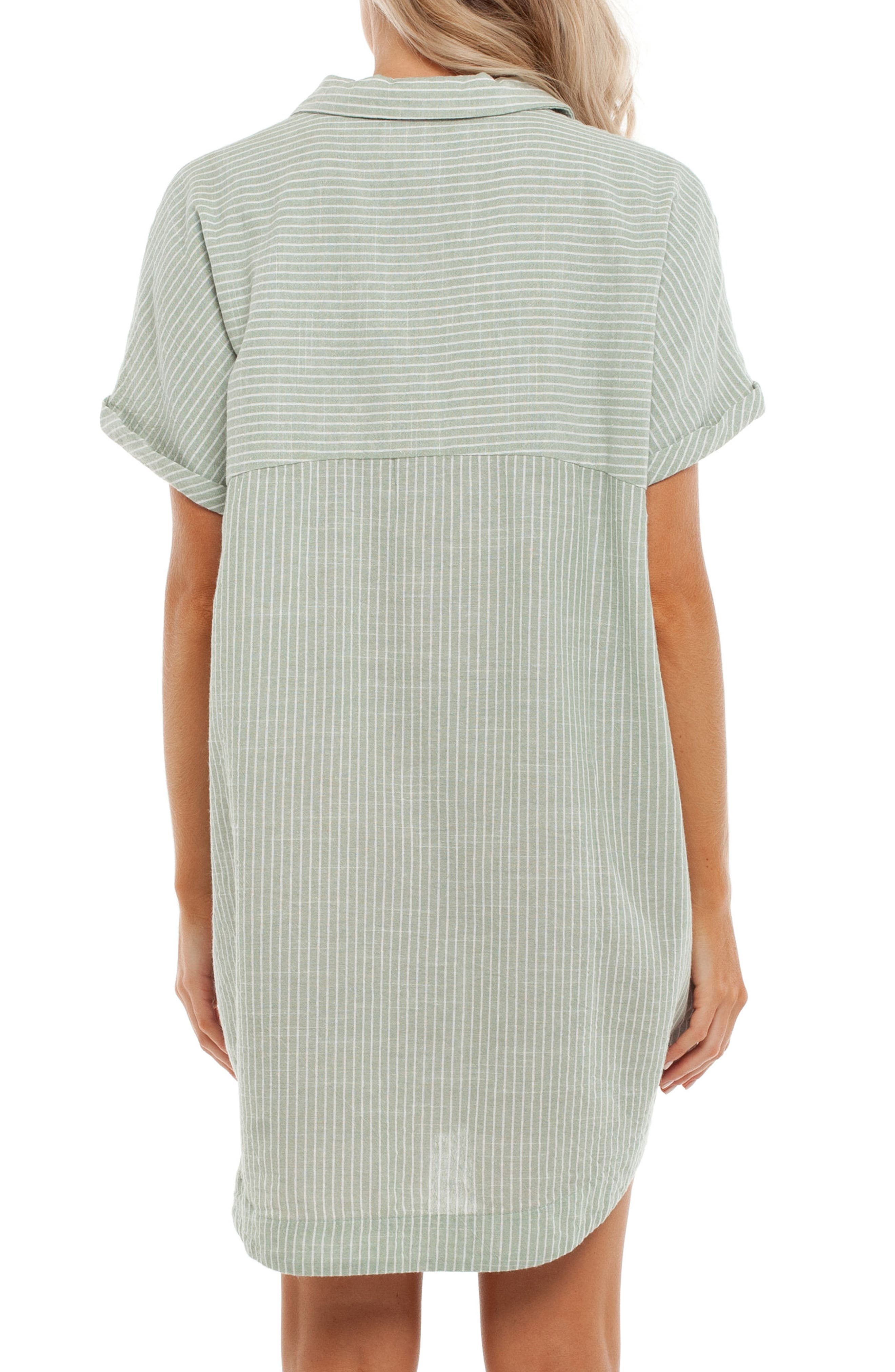 Seaside Cover-Up Dress,                             Alternate thumbnail 2, color,                             Palm