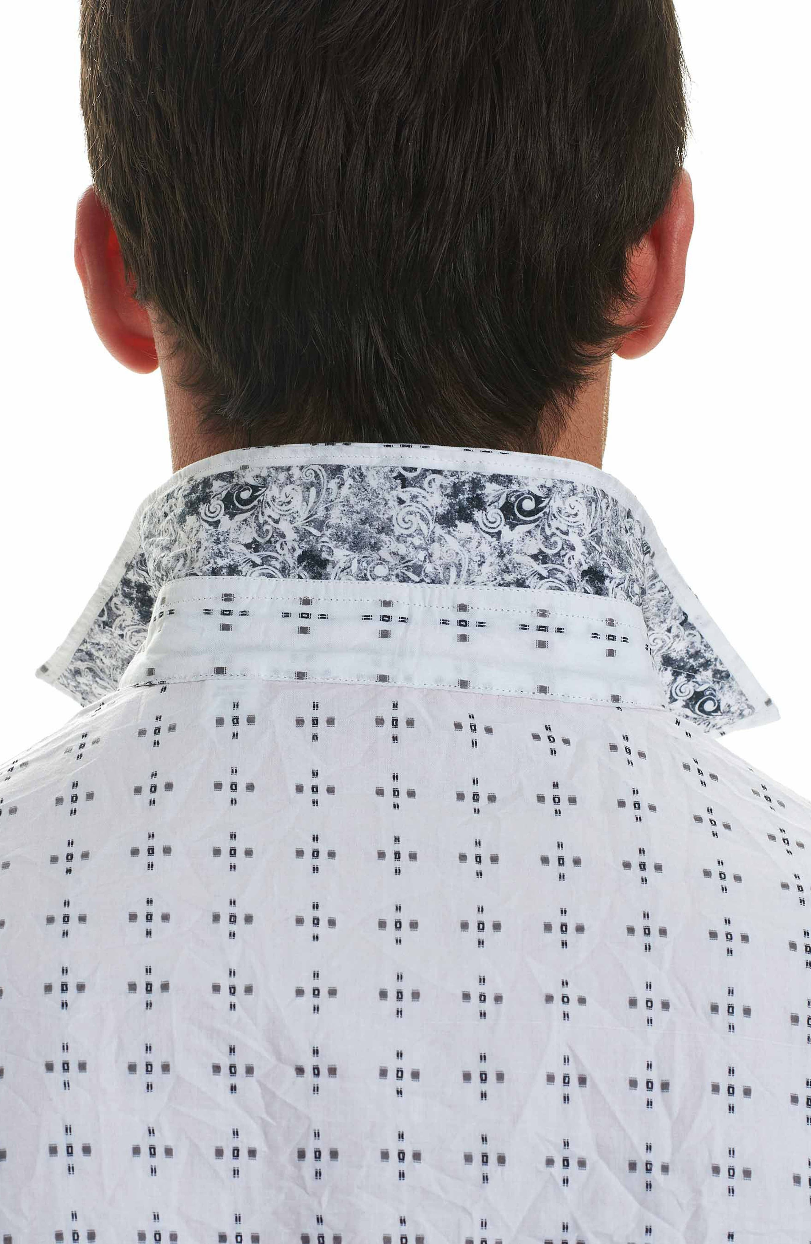 Alternate Image 3  - Robert Graham Steger Classic Fit Print Sport Shirt