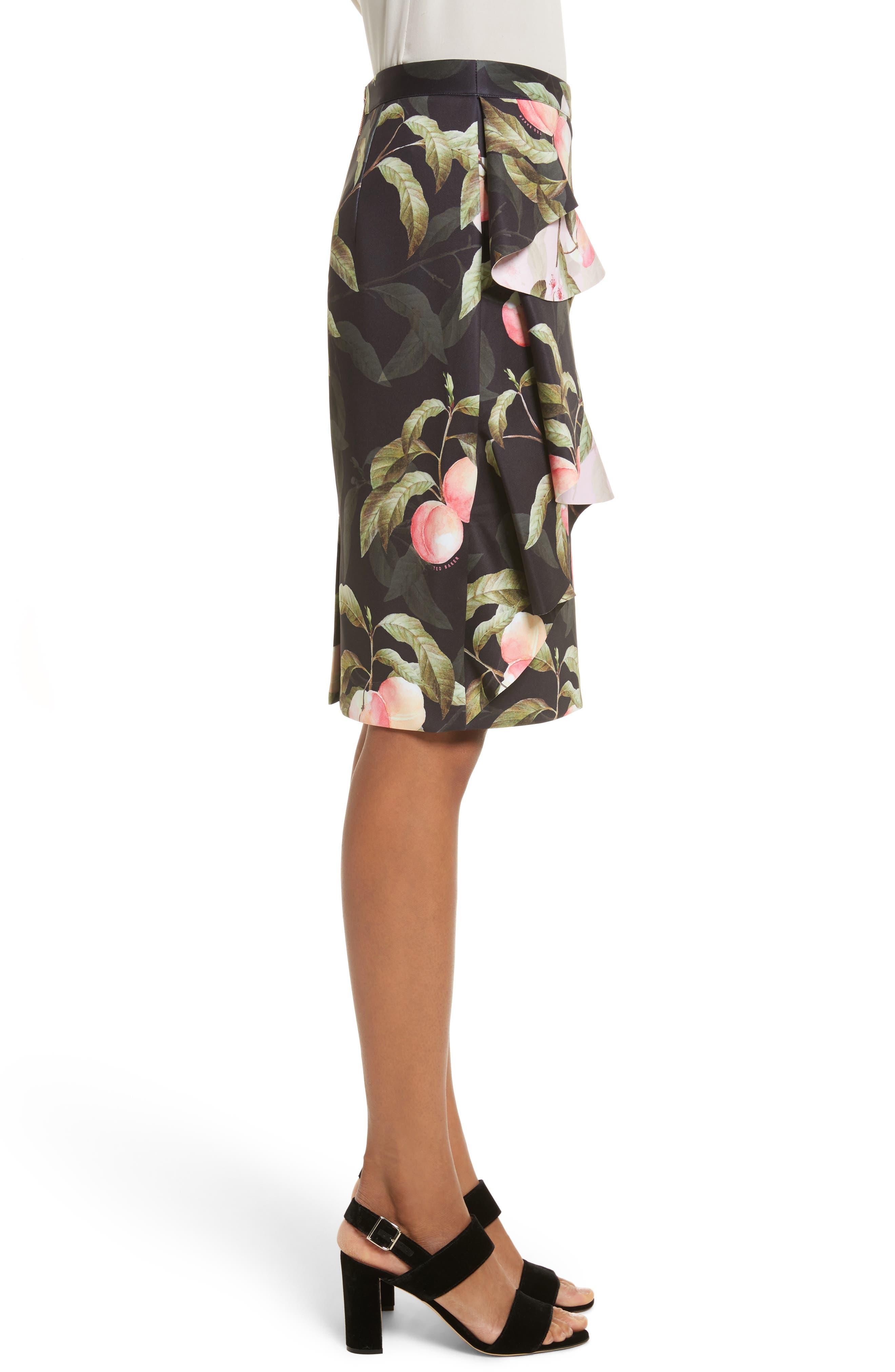 Alternate Image 3  - Ted Baker London Peaches Ruffle Pencil Skirt
