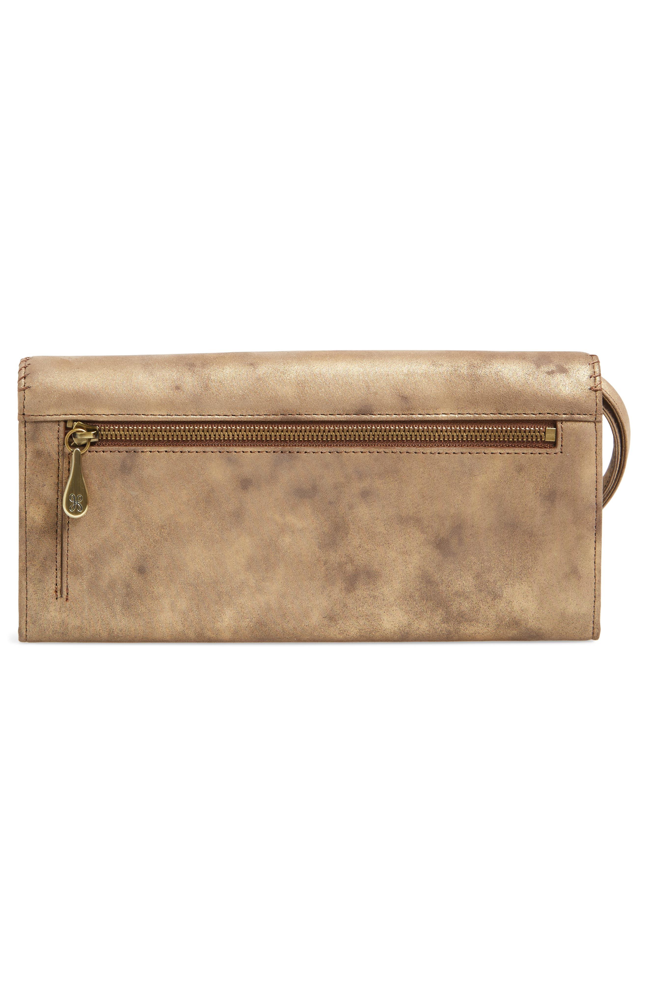 Alternate Image 4  - Hobo Era Wristie Leather Wallet