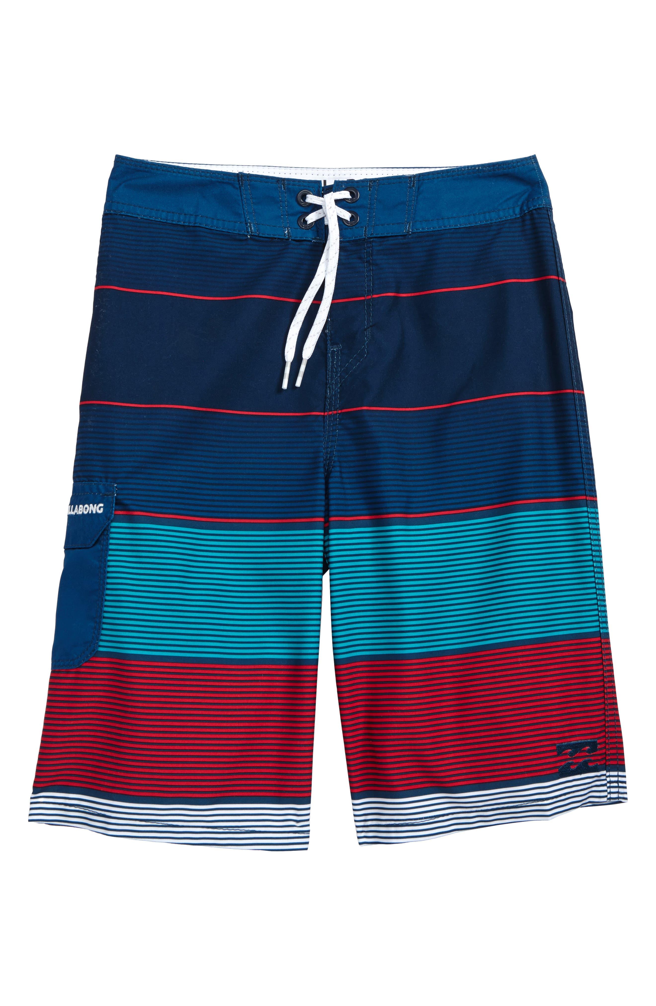 Billabong All Day OG Stripe Board Shorts (Big Boys)