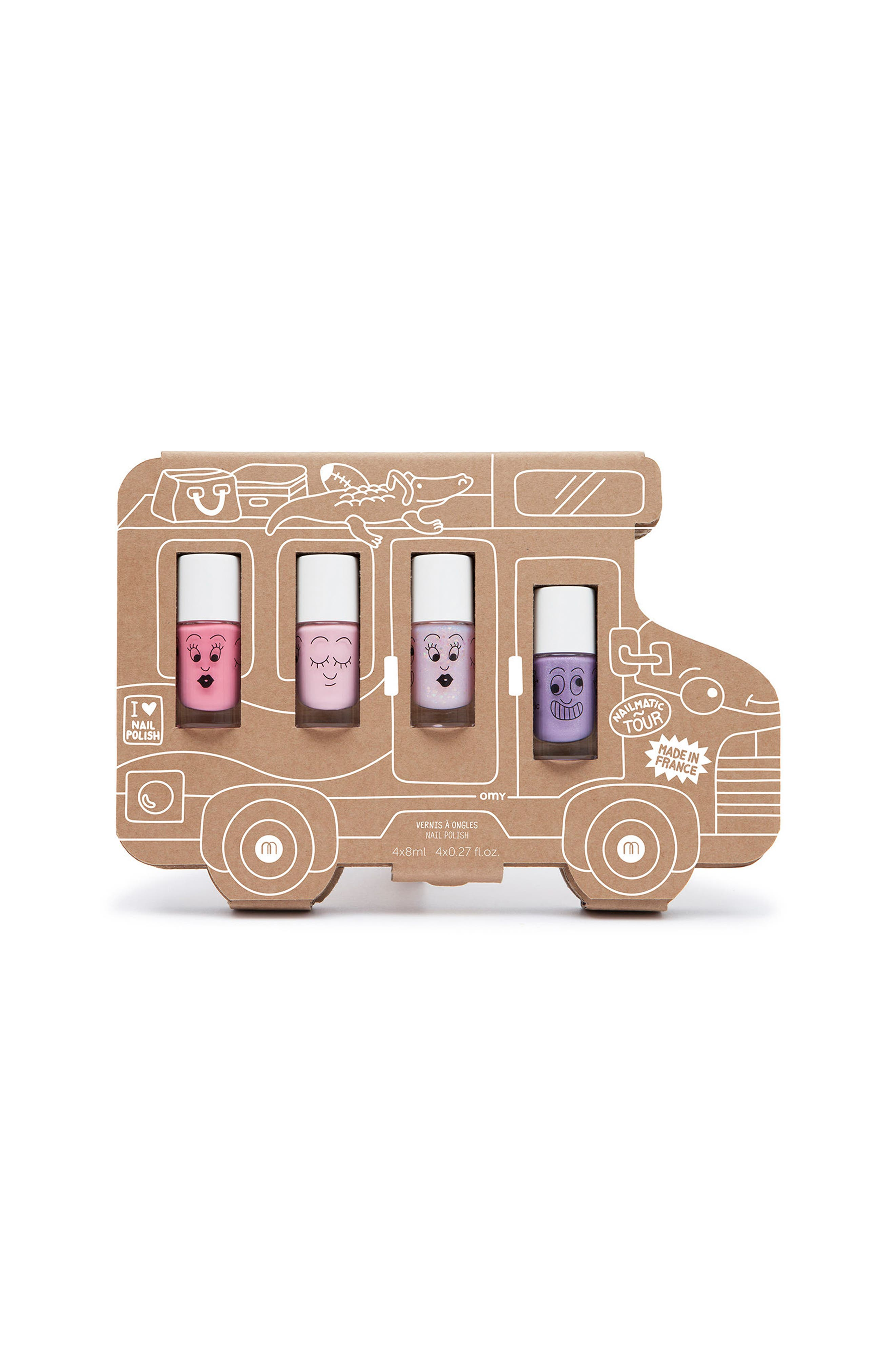 Nailmatic Holiday Van Water-Based Nail Polish Set