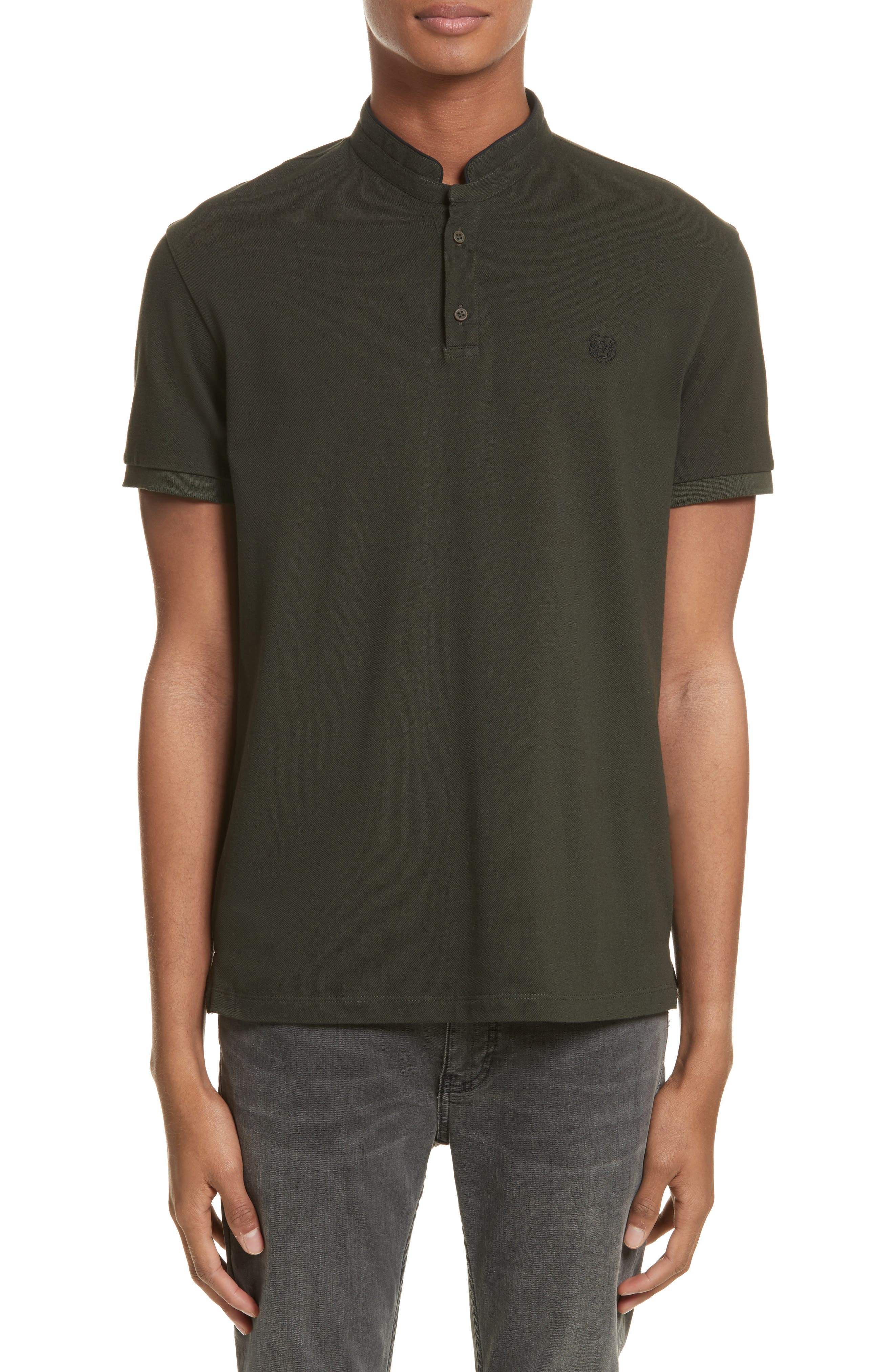 Officer Polo Shirt,                         Main,                         color, Green
