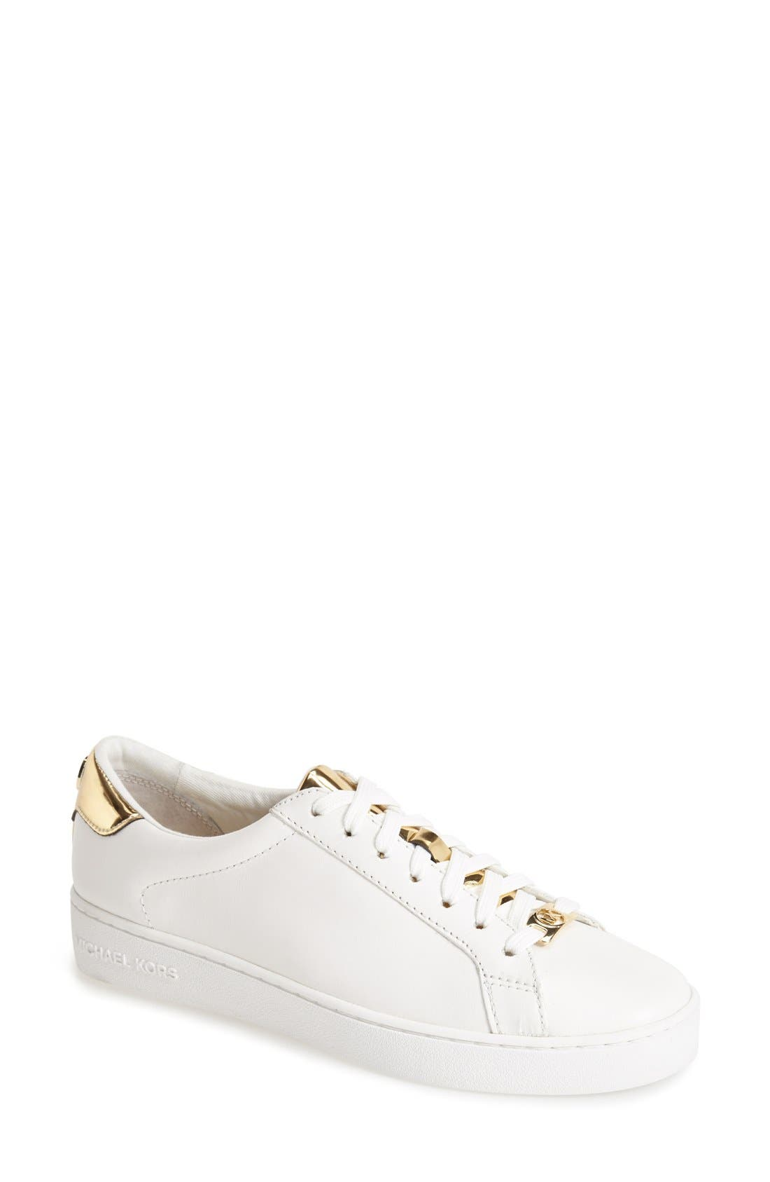 MICHAEL Michael Kors 'The Jet Set 6 - Irving' Leather Sneaker (Women)