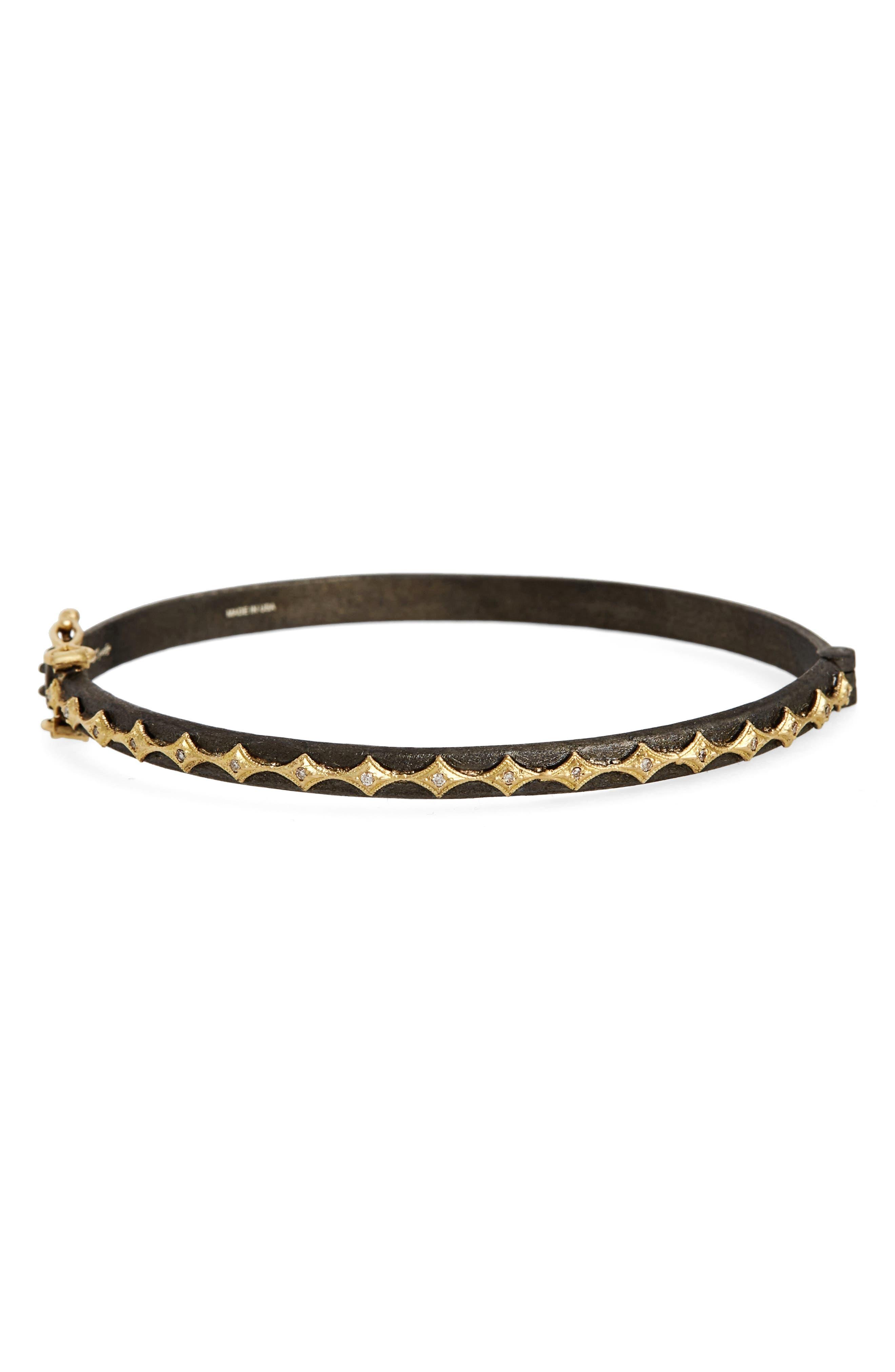 Old World Eternity Crivelli Diamond Bracelet,                         Main,                         color, Gold