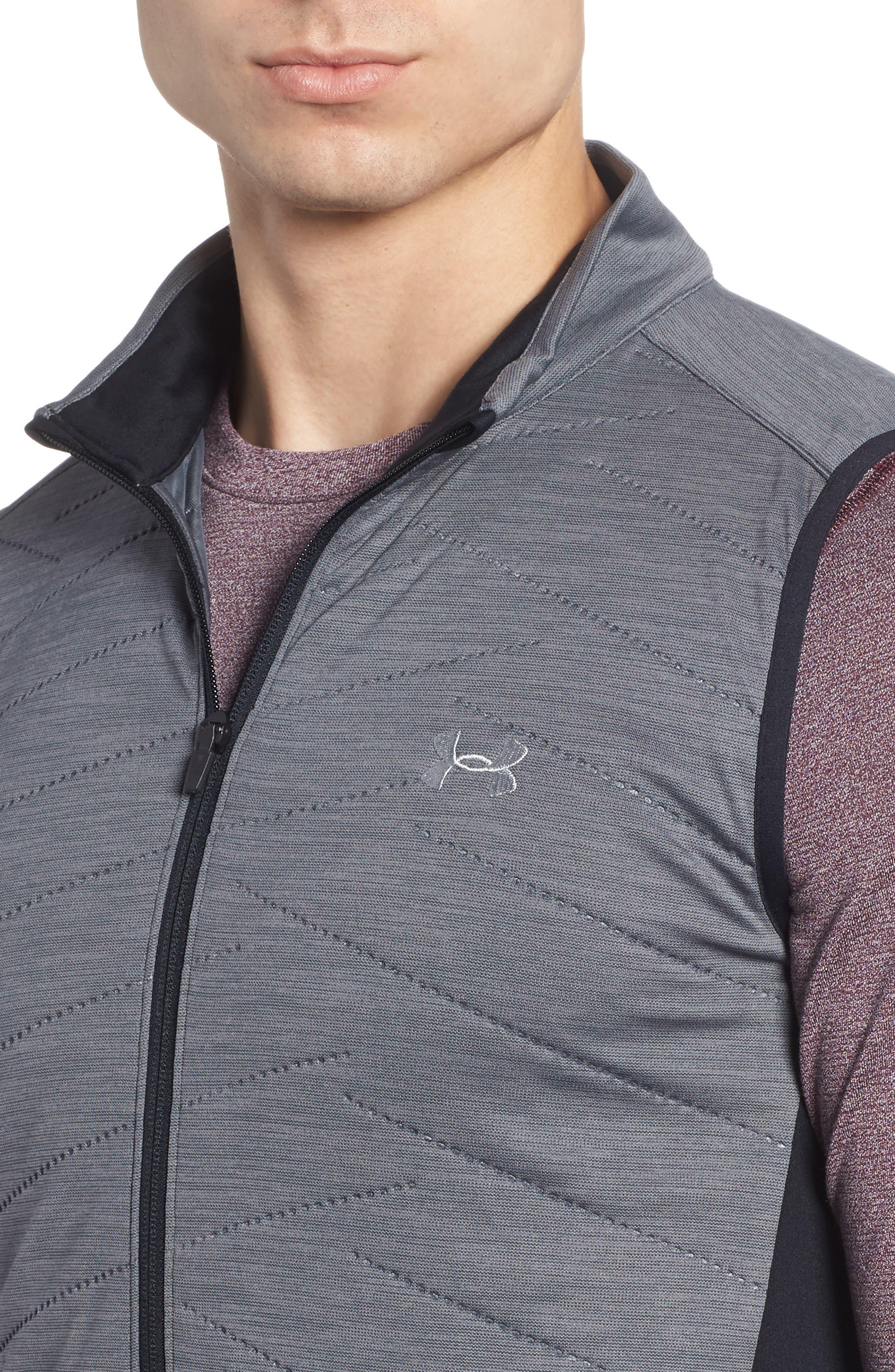 Reactor Hybrid Zip Vest,                             Alternate thumbnail 4, color,                             Rhino Grey / Black / Grey