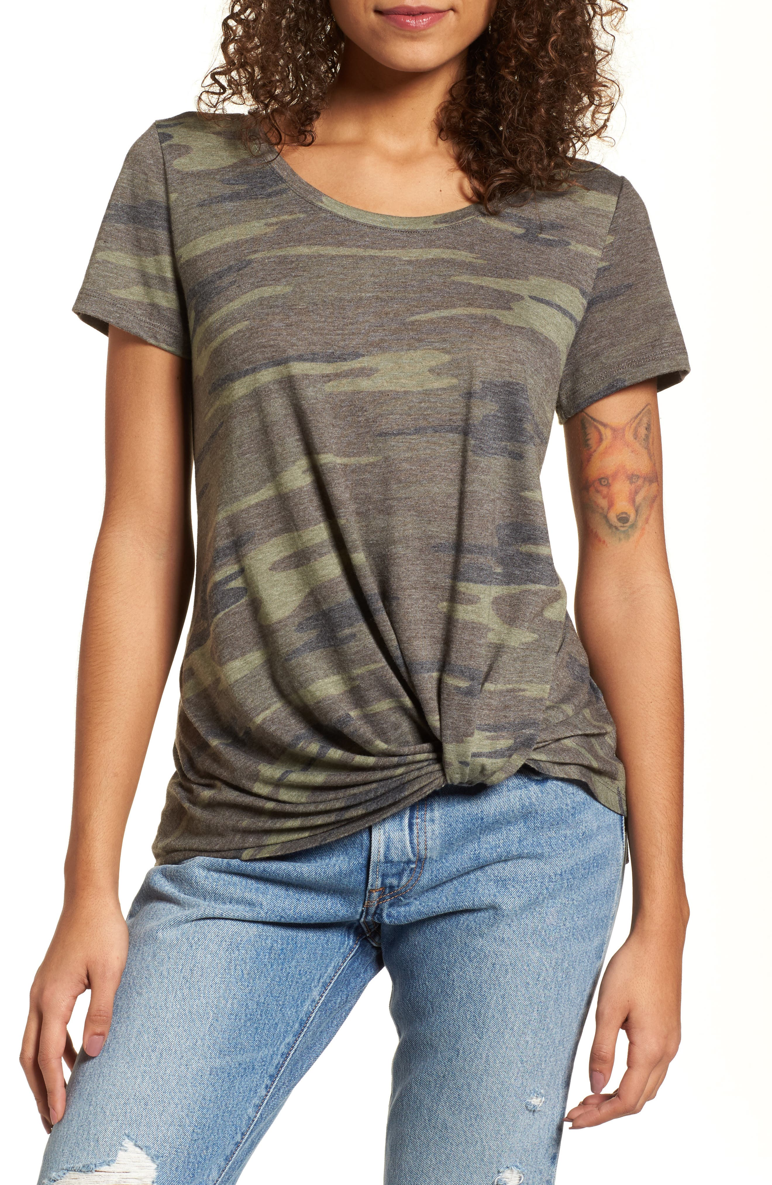 top outfits 2017 from pinterestingplans - camo tee