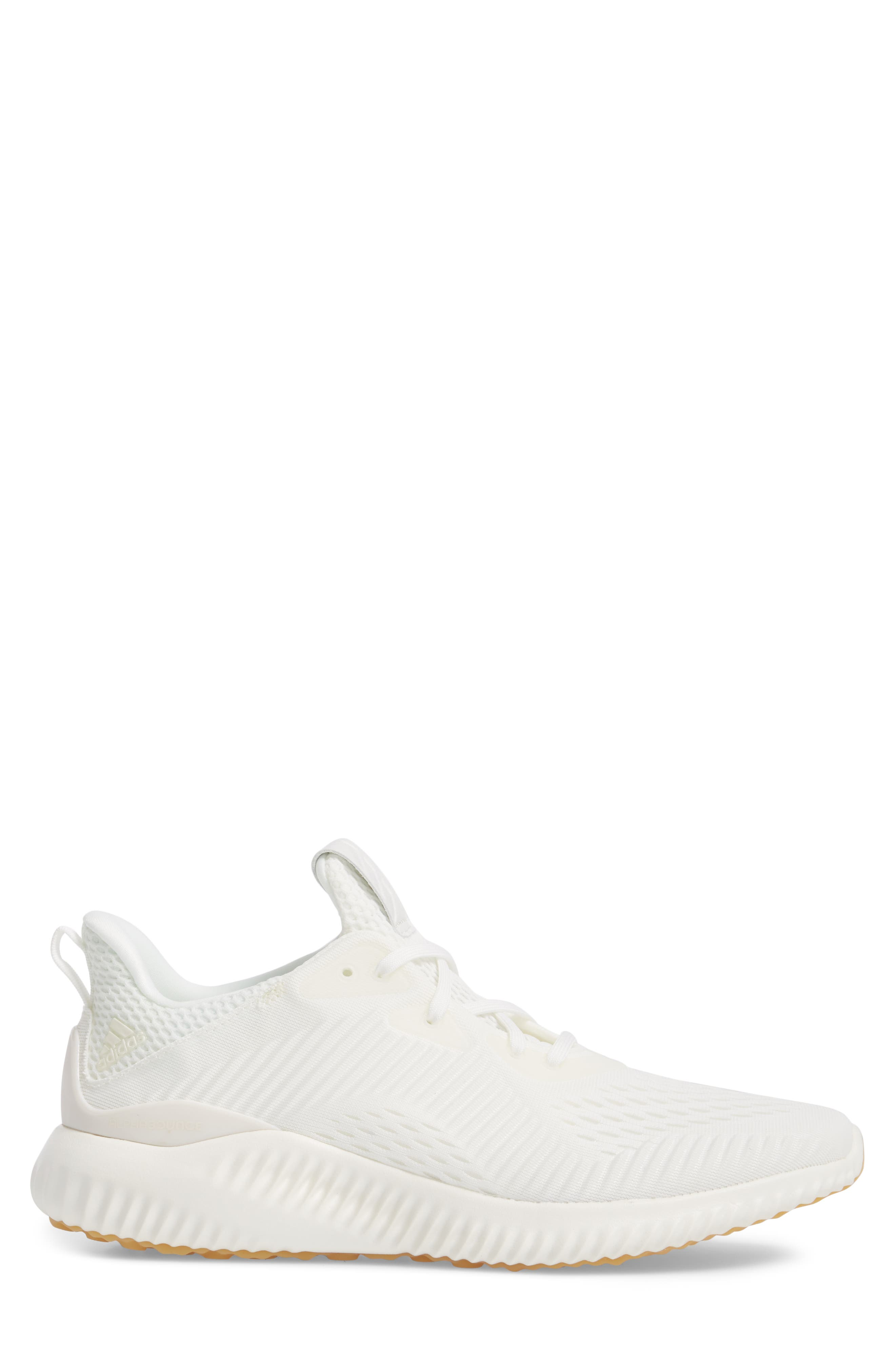 AlphaBounce EM Undye Running Shoe,                             Alternate thumbnail 3, color,                             Non Dyed/ Grey