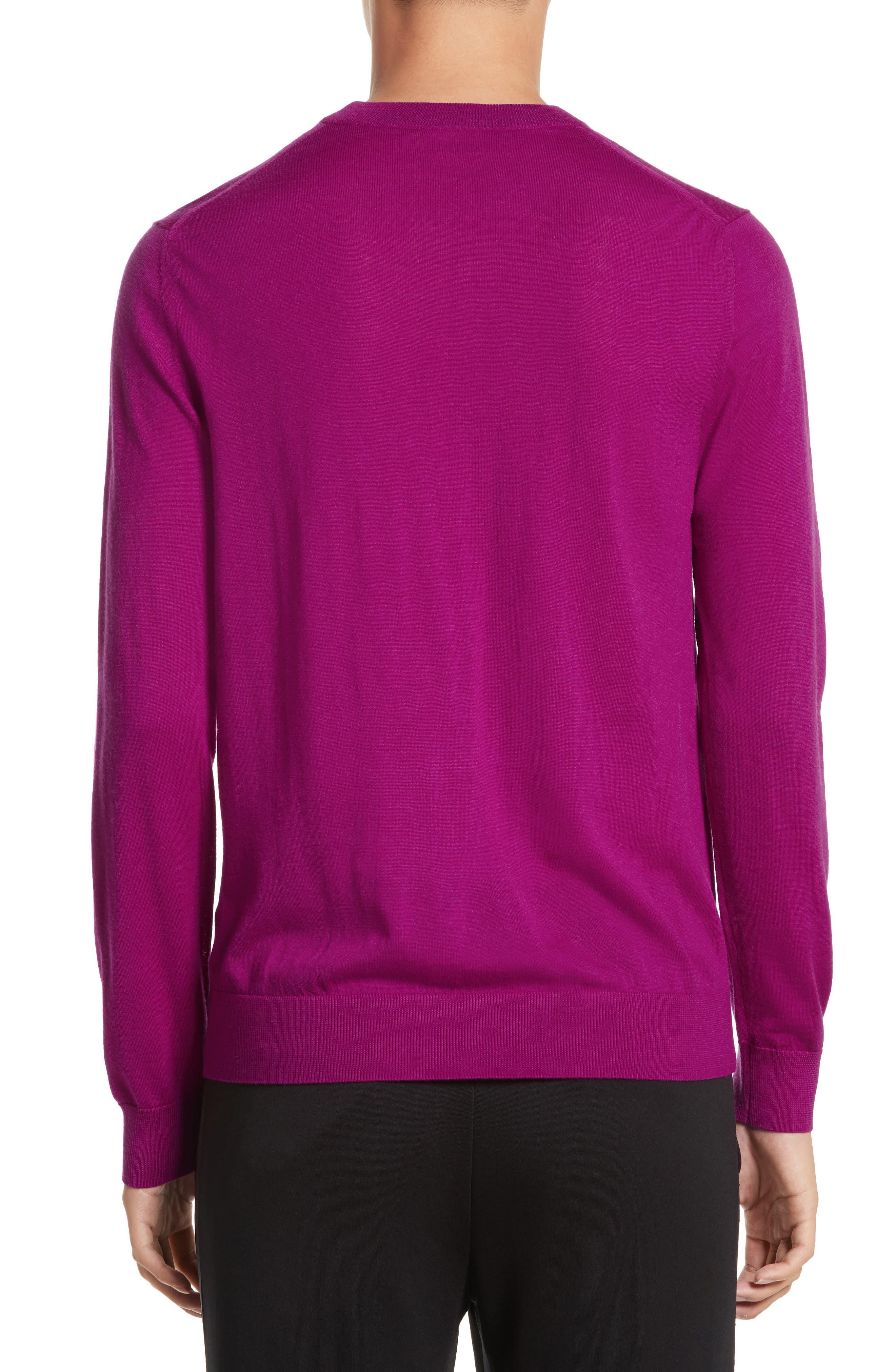 Alternate Image 2  - Paul Smith Merino Wool Crewneck Sweater
