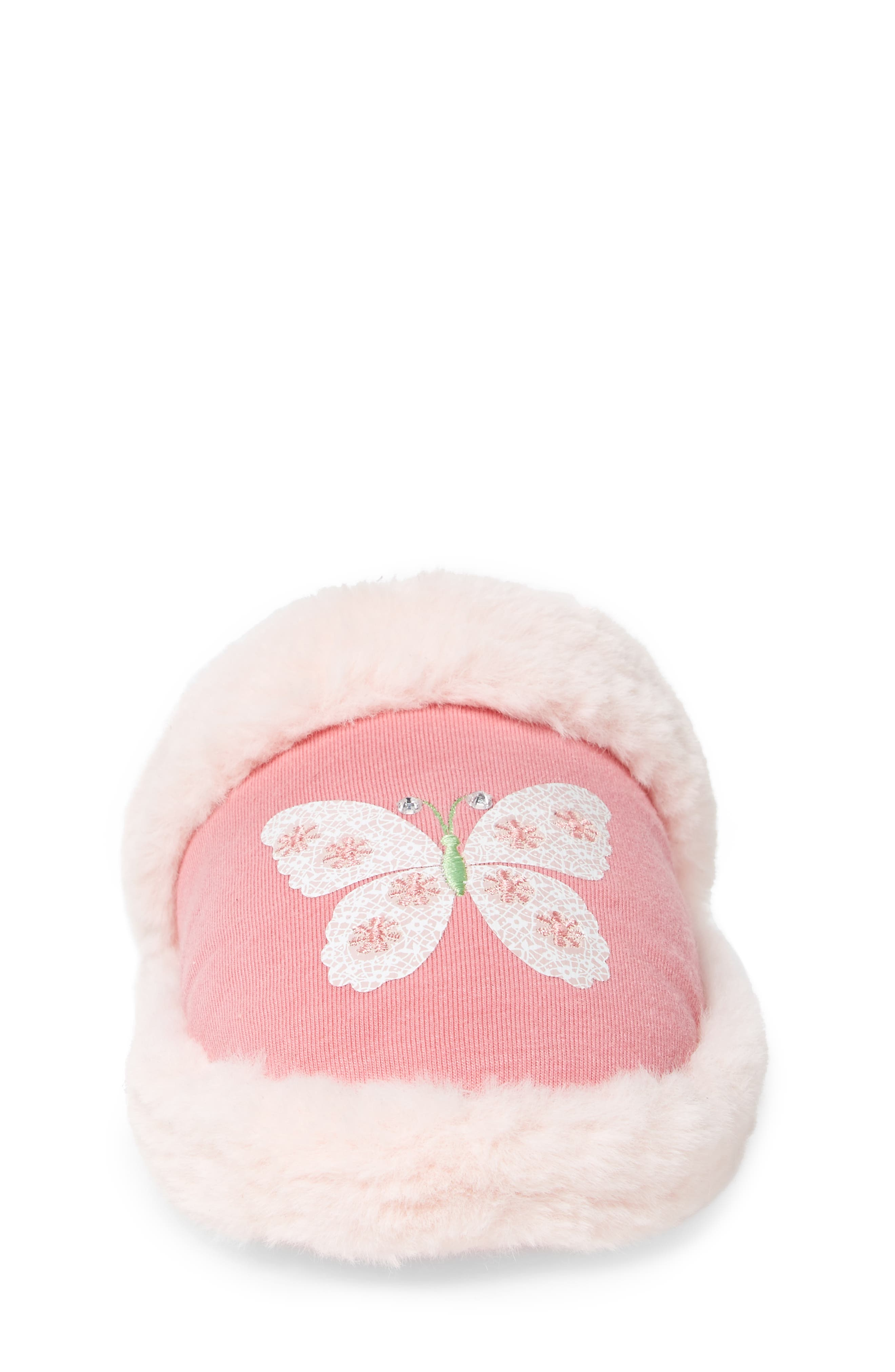 Alternate Image 4  - WellieWishers from American Girl Ashlyn Faux Fur Slipper (Toddler, Little Kid & Big Kid)