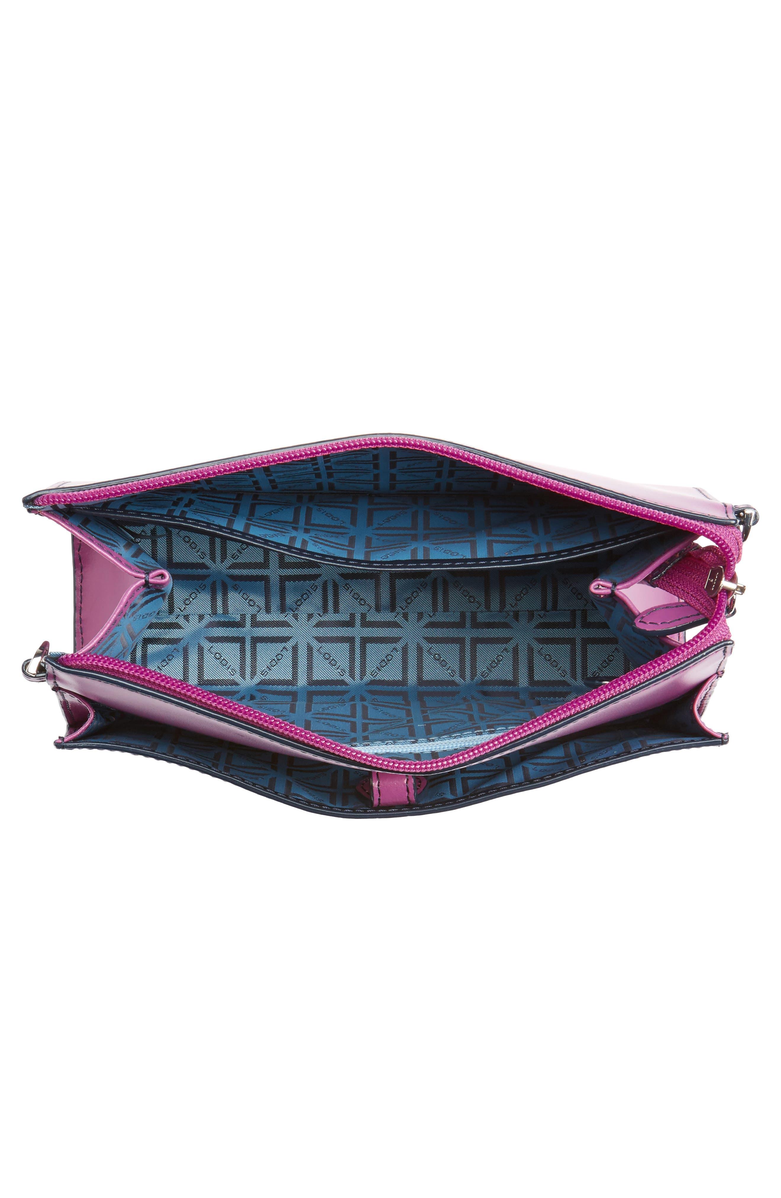 Alternate Image 4  - LODIS Audrey Under Lock & Key Vicky Convertible Leather Crossbody Bag