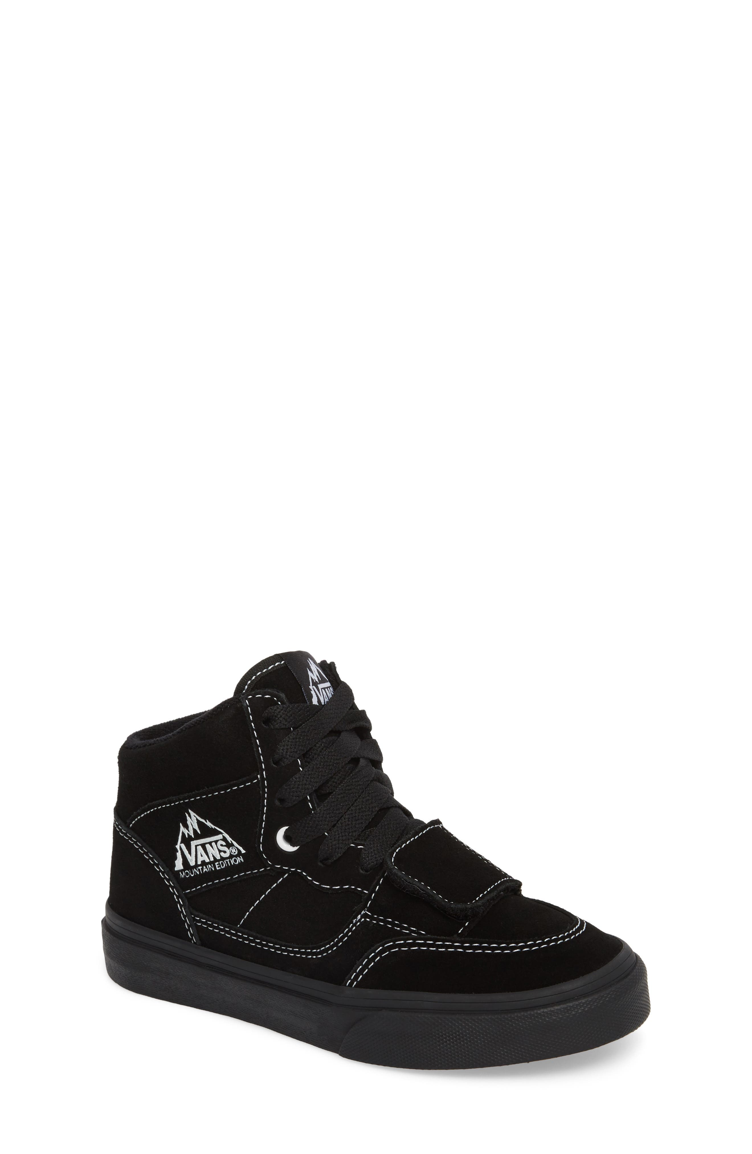 vans shoes black and white boys. vans mountain edition mid top sneaker (baby, walker, toddler, little kid \u0026 shoes black and white boys