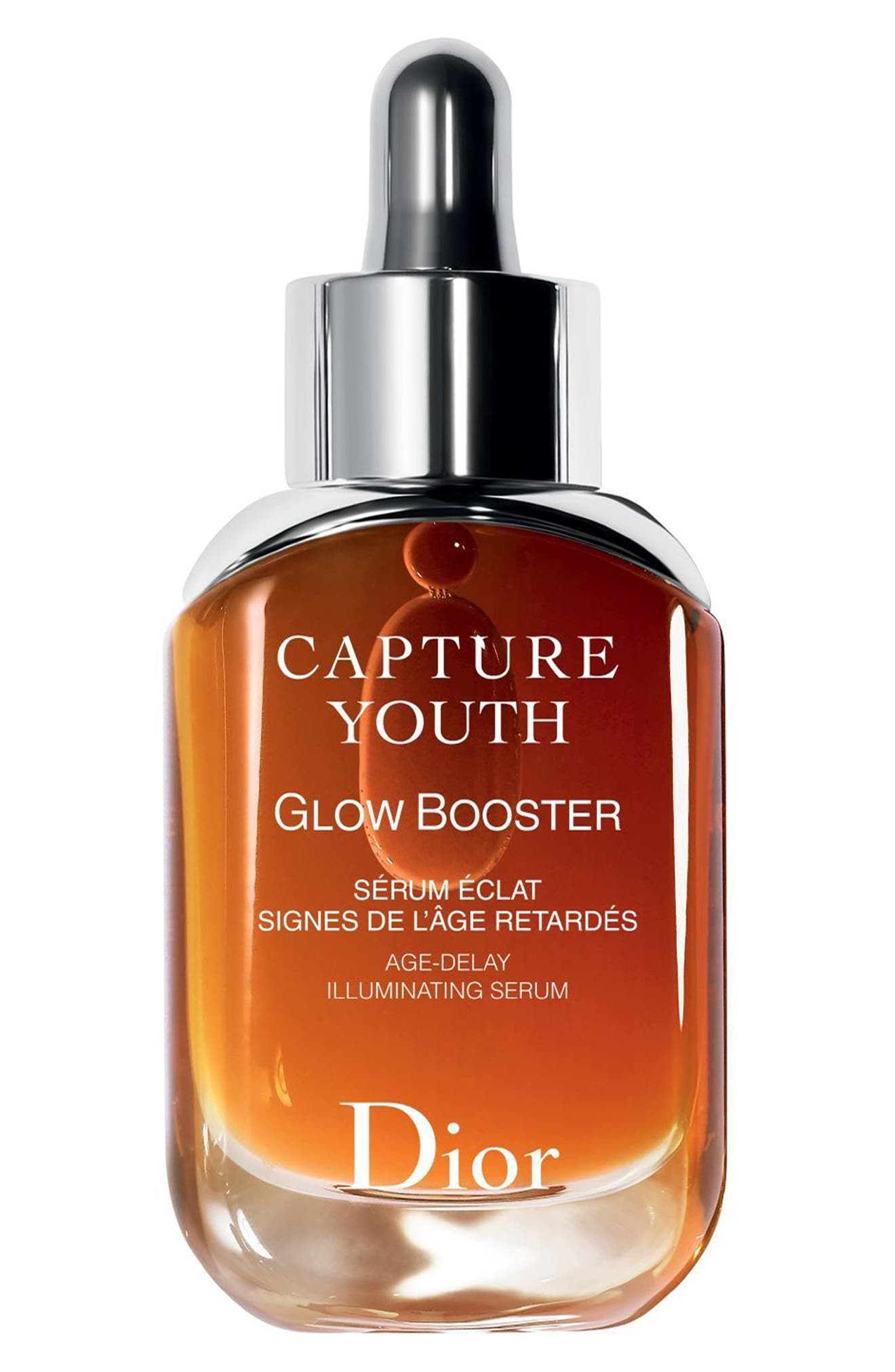 Capture Youth Glow Booster Age-Delay Illuminating Serum,                             Main thumbnail 1, color,                             No Color