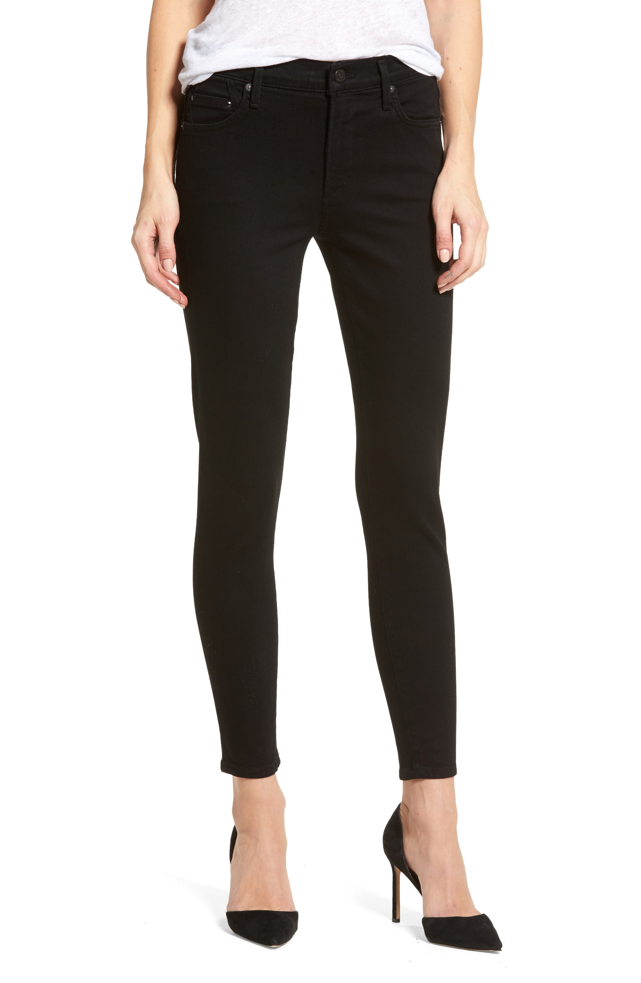 Main Image - Citizens of Humanity Rocket Skinny Jeans (Blackbird) (Petite)
