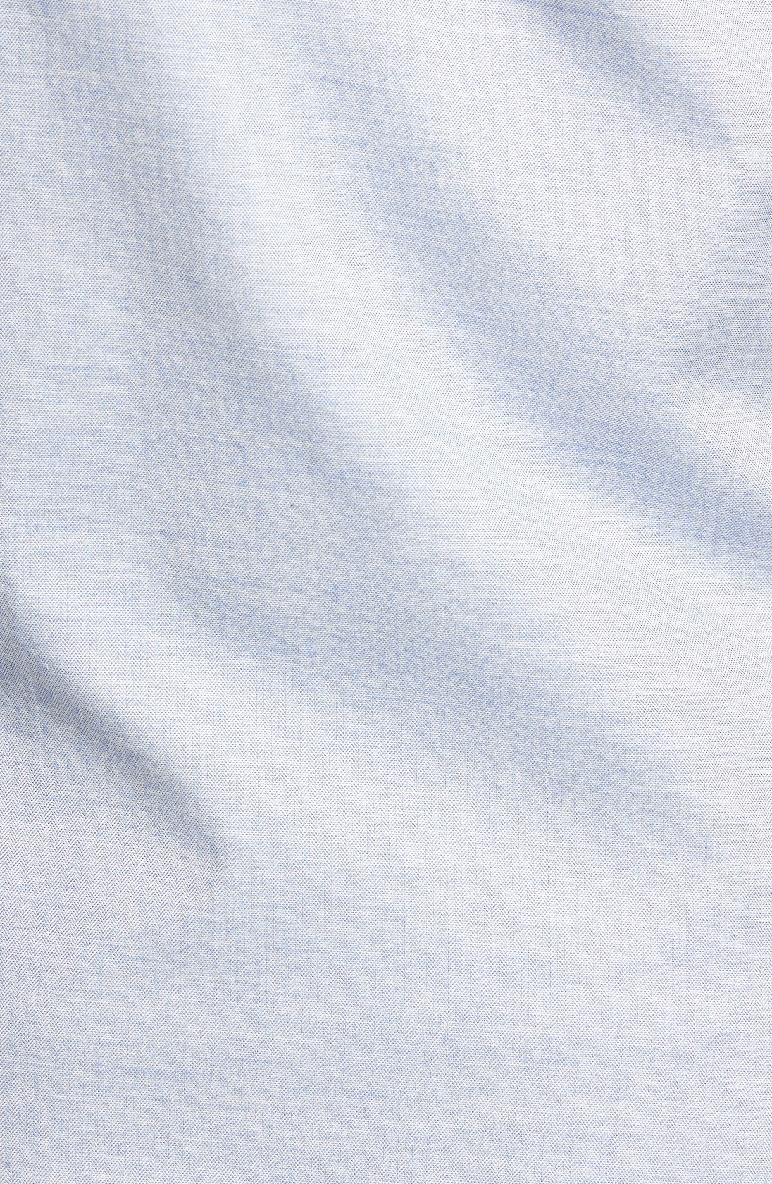 Classic Fit Sport Shirt,                             Alternate thumbnail 5, color,                             Sky