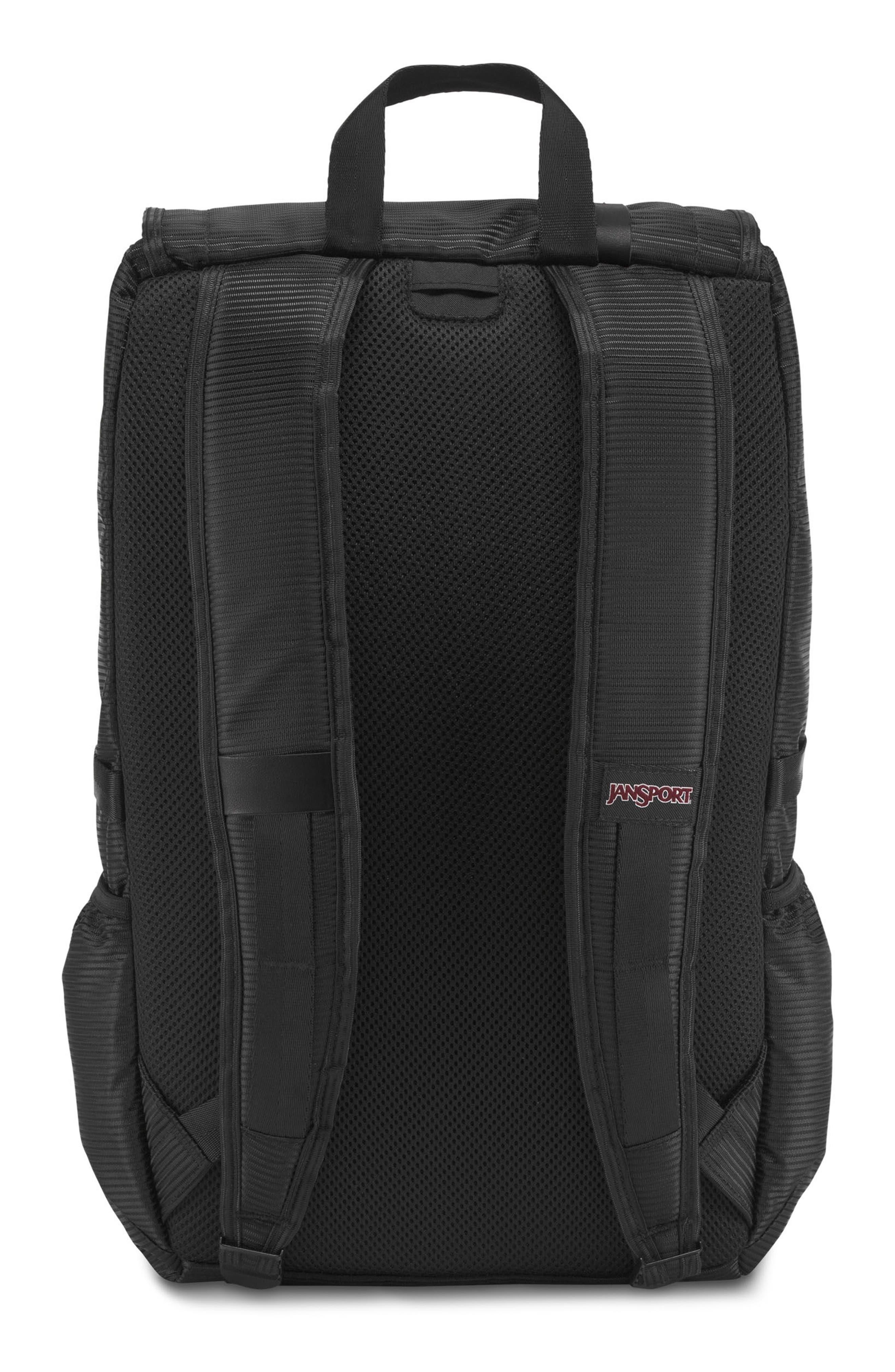 Hatchet DL Backpack,                             Alternate thumbnail 3, color,                             Black Line